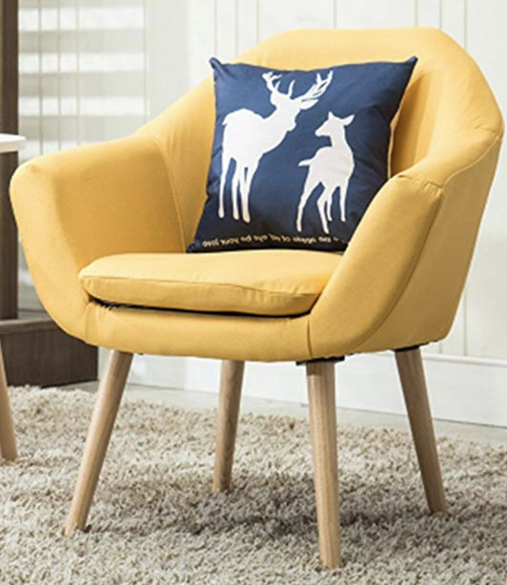 6 Mustard Yellow Accent Chairs For Stylish Homes – Cute In Giguere Barrel Chairs (View 3 of 15)