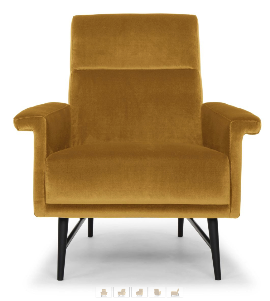 6 Mustard Yellow Accent Chairs For Stylish Homes – Cute Regarding Giguere Barrel Chairs (View 5 of 15)