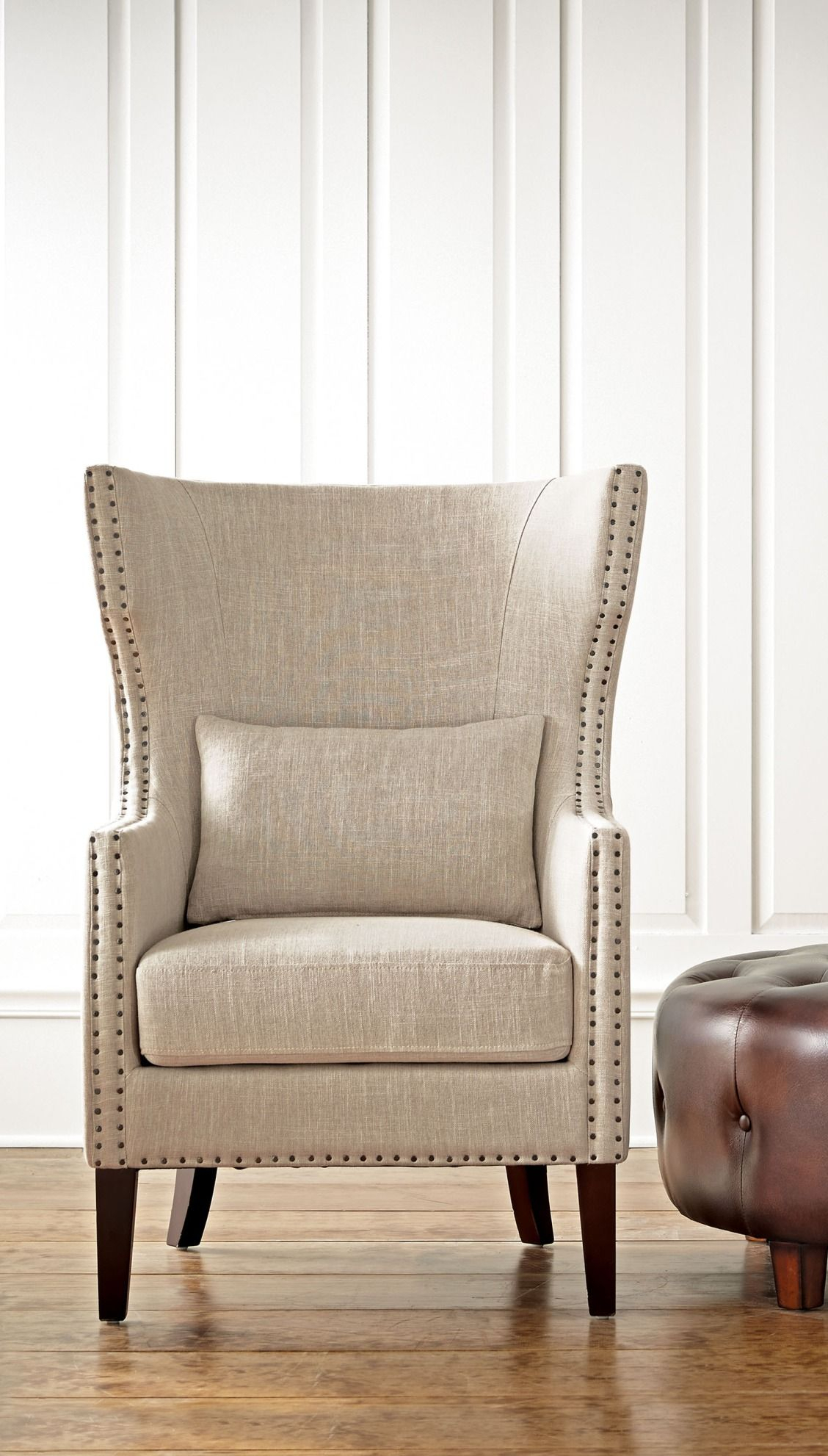 A Wingback Armchair That Really Makes A Statement, Yet Isn'T Intended For Busti Wingback Chairs (View 5 of 15)