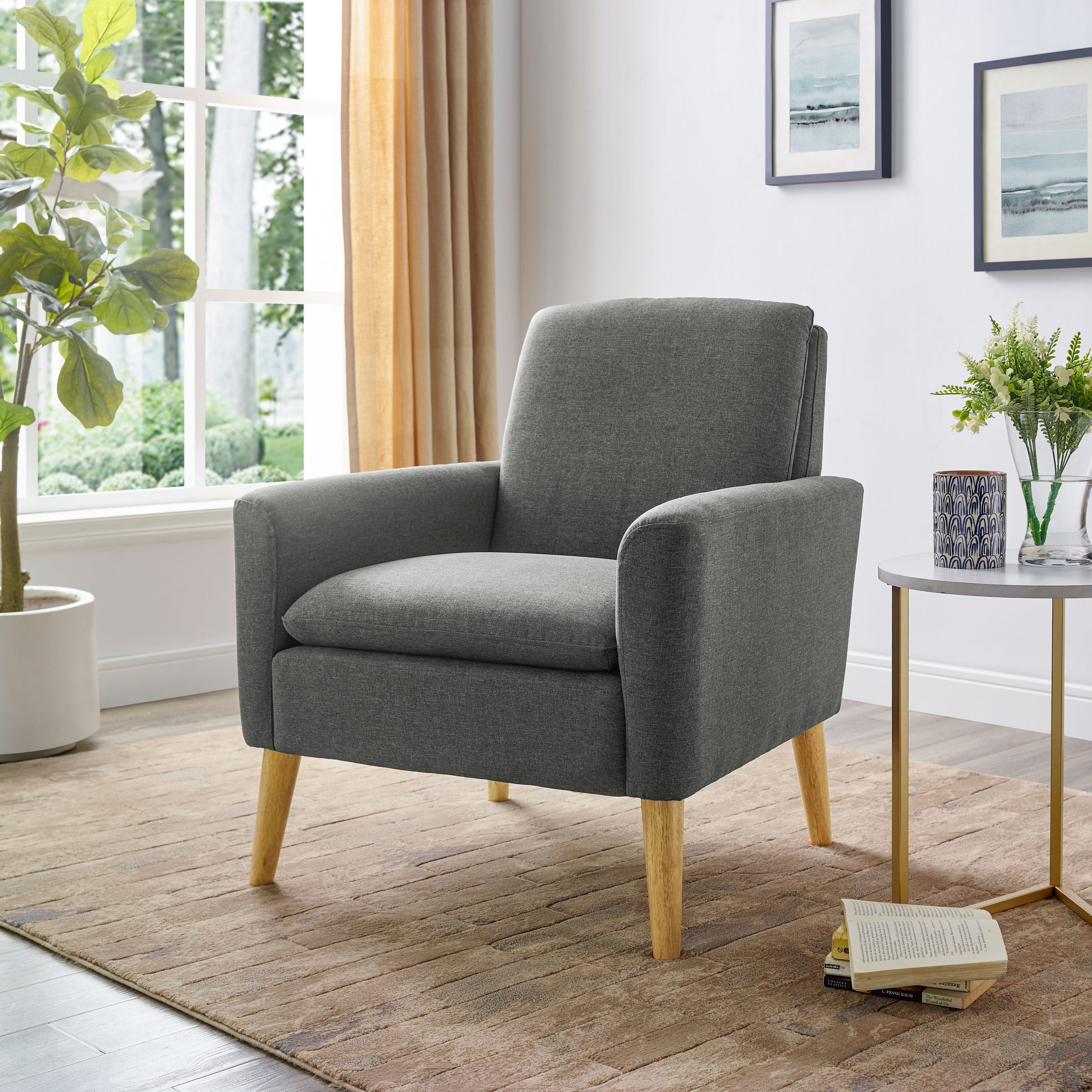 Abordale Arm Chair In Hiltz Armchairs (View 8 of 15)