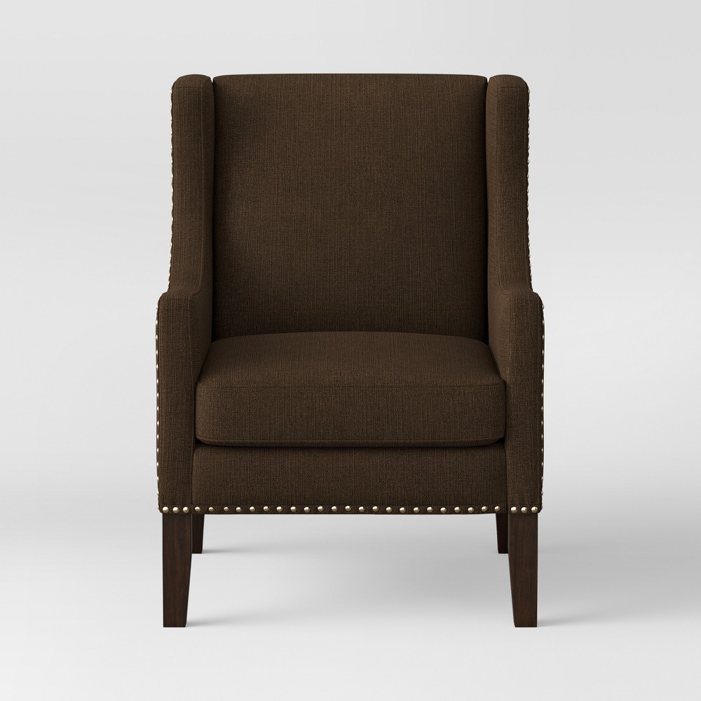 Accent Chairs Chocolate – Threshold , Brown | Accent Chairs Intended For Briseno Barrel Chairs (View 11 of 15)