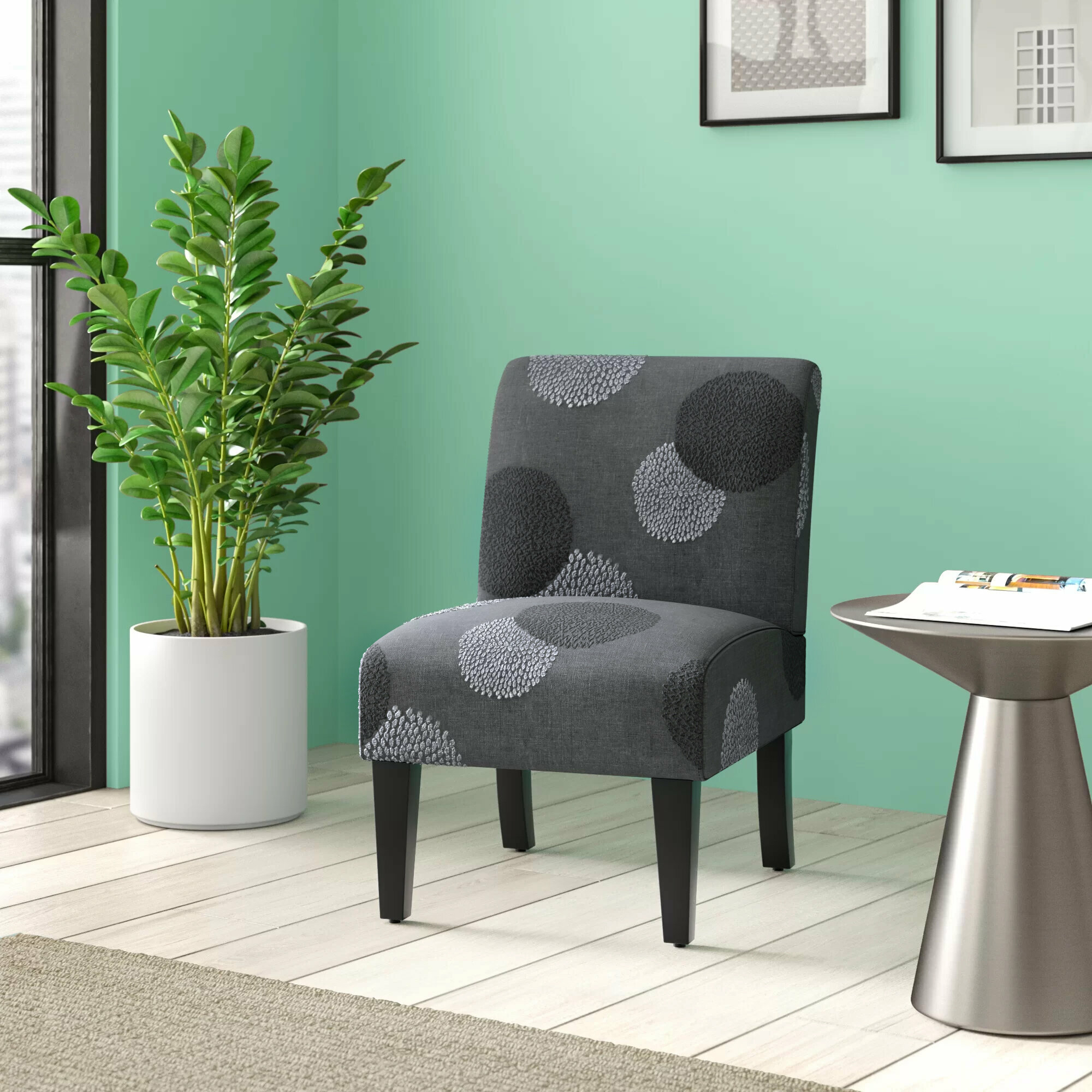 Accent Chairs Under $150 You'Ll Love In 2021 | Wayfair Inside Ansar Faux Leather Barrel Chairs (View 13 of 15)