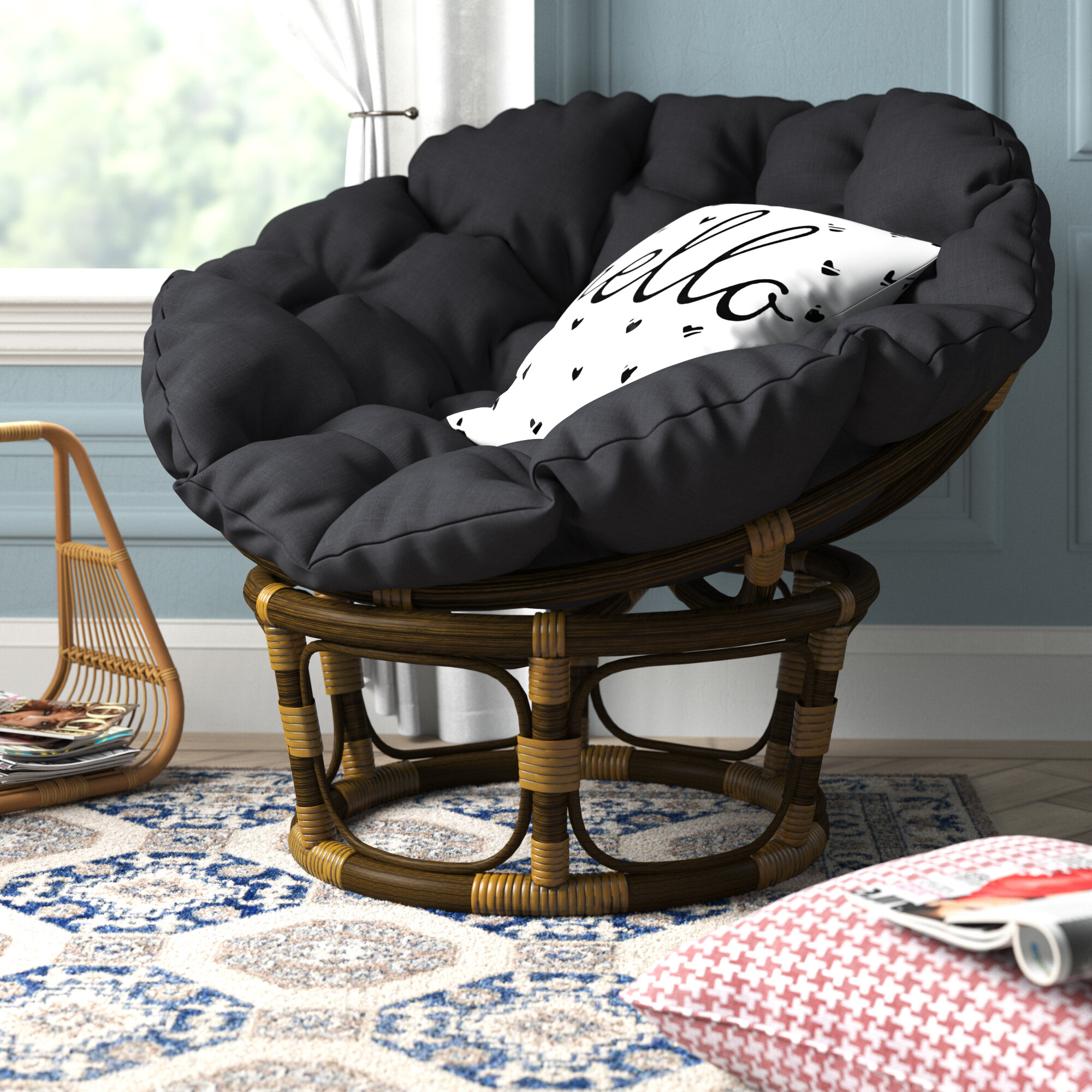 Accent Chairs | Up To 60% Off Through 01/05 Inside Orndorff Tufted Papasan Chairs (View 5 of 15)