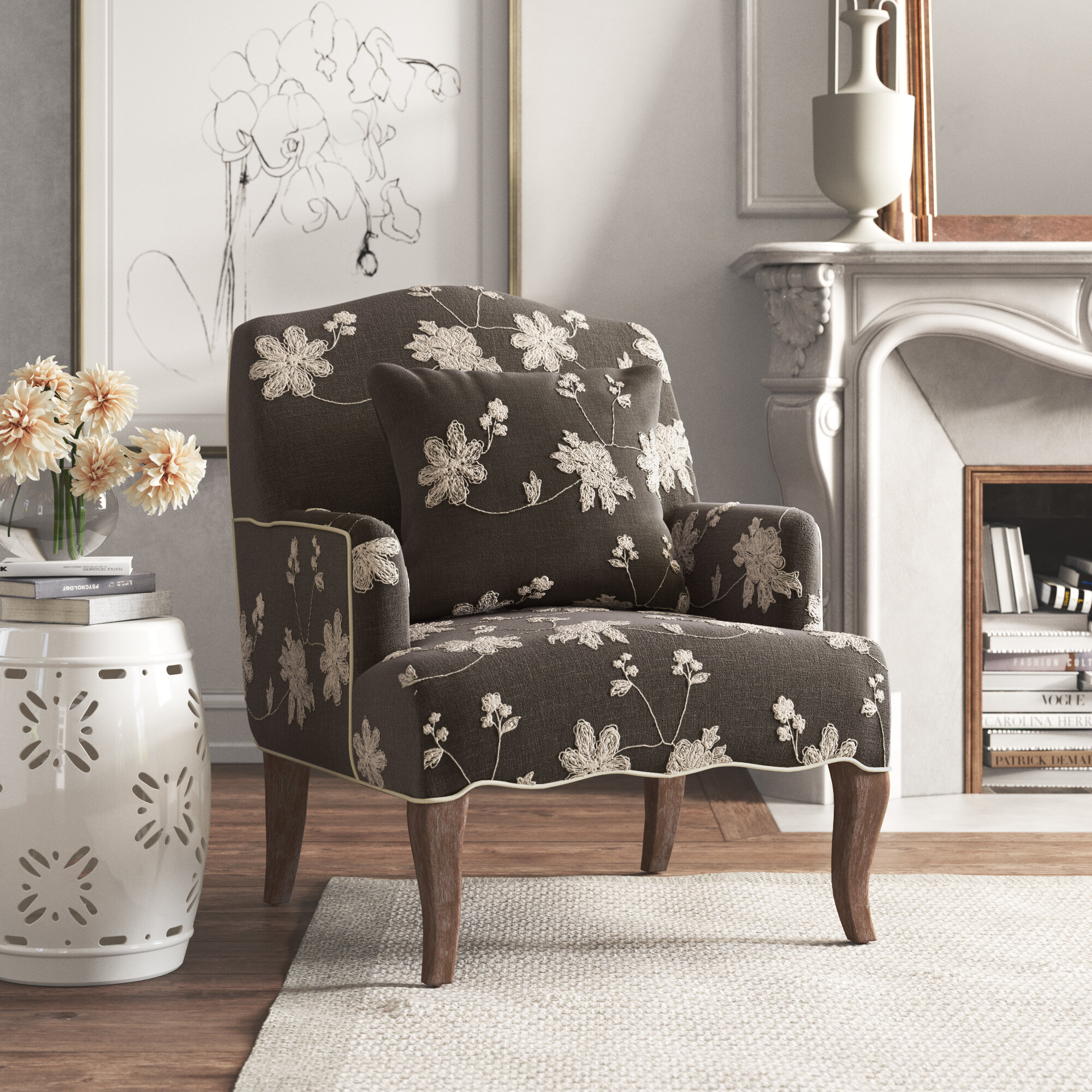 Accent Chairs You'Ll Love In 2021 | Wayfair In Bernardston Armchairs (View 10 of 15)