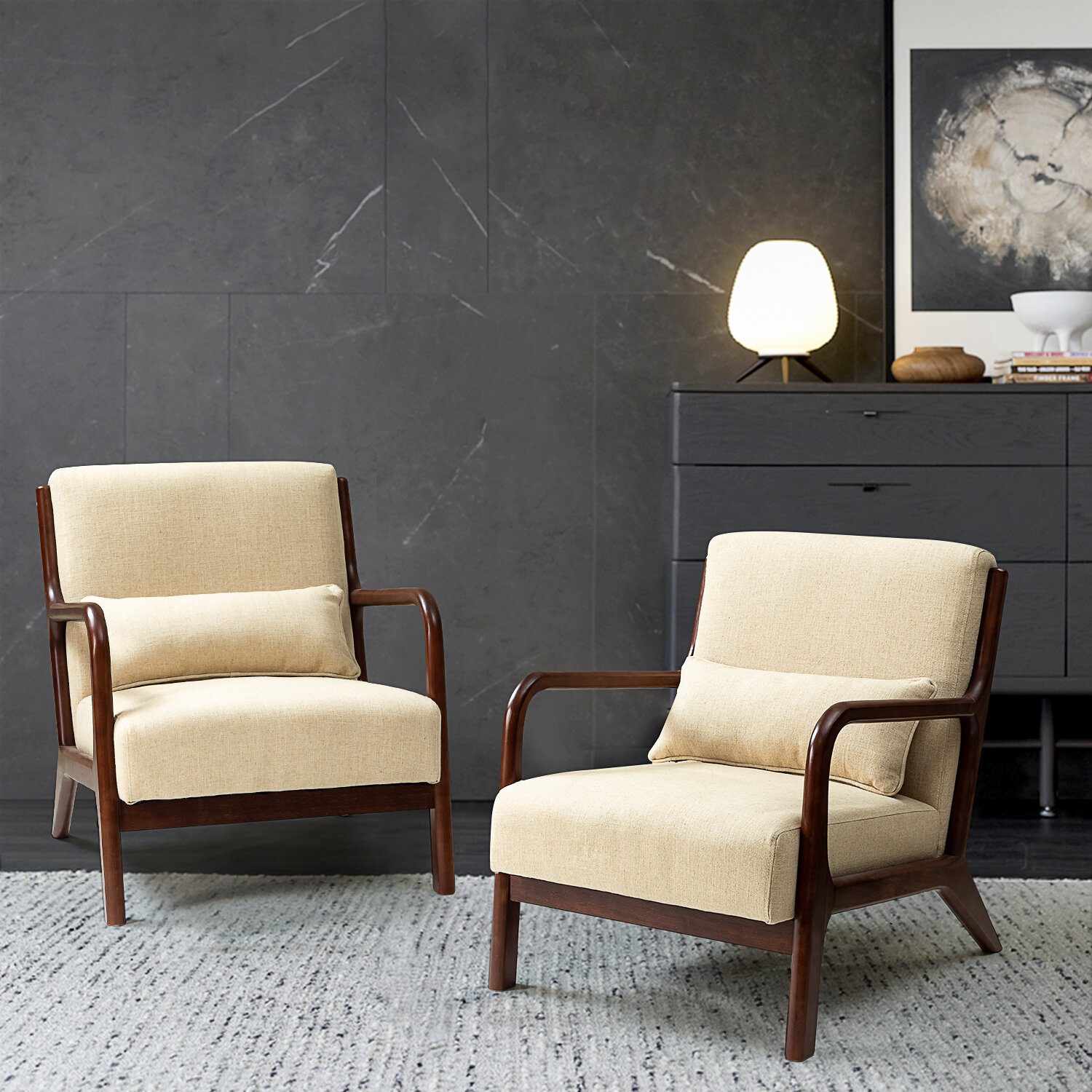 Accent Chairs You'Ll Love In 2021 | Wayfair With Regard To Nadene Armchairs (View 12 of 15)