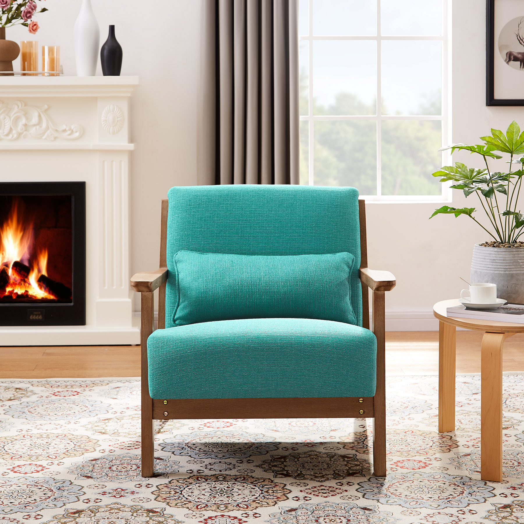 Accent Chairs You'Ll Love In 2021 | Wayfair With Regard To Nadene Armchairs (View 11 of 15)