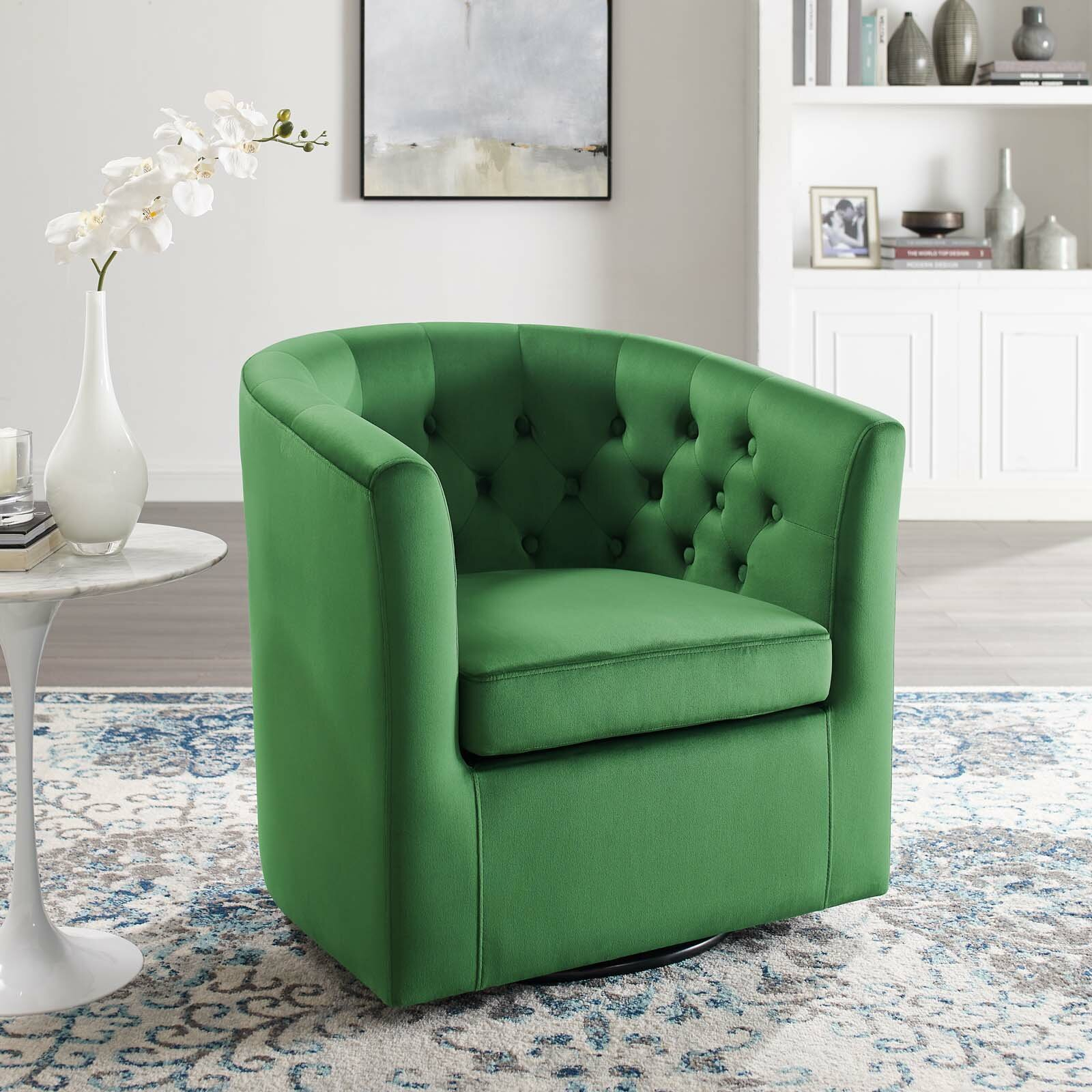 Achorn Barrel Chair Throughout Danny Barrel Chairs (Set Of 2) (View 11 of 15)