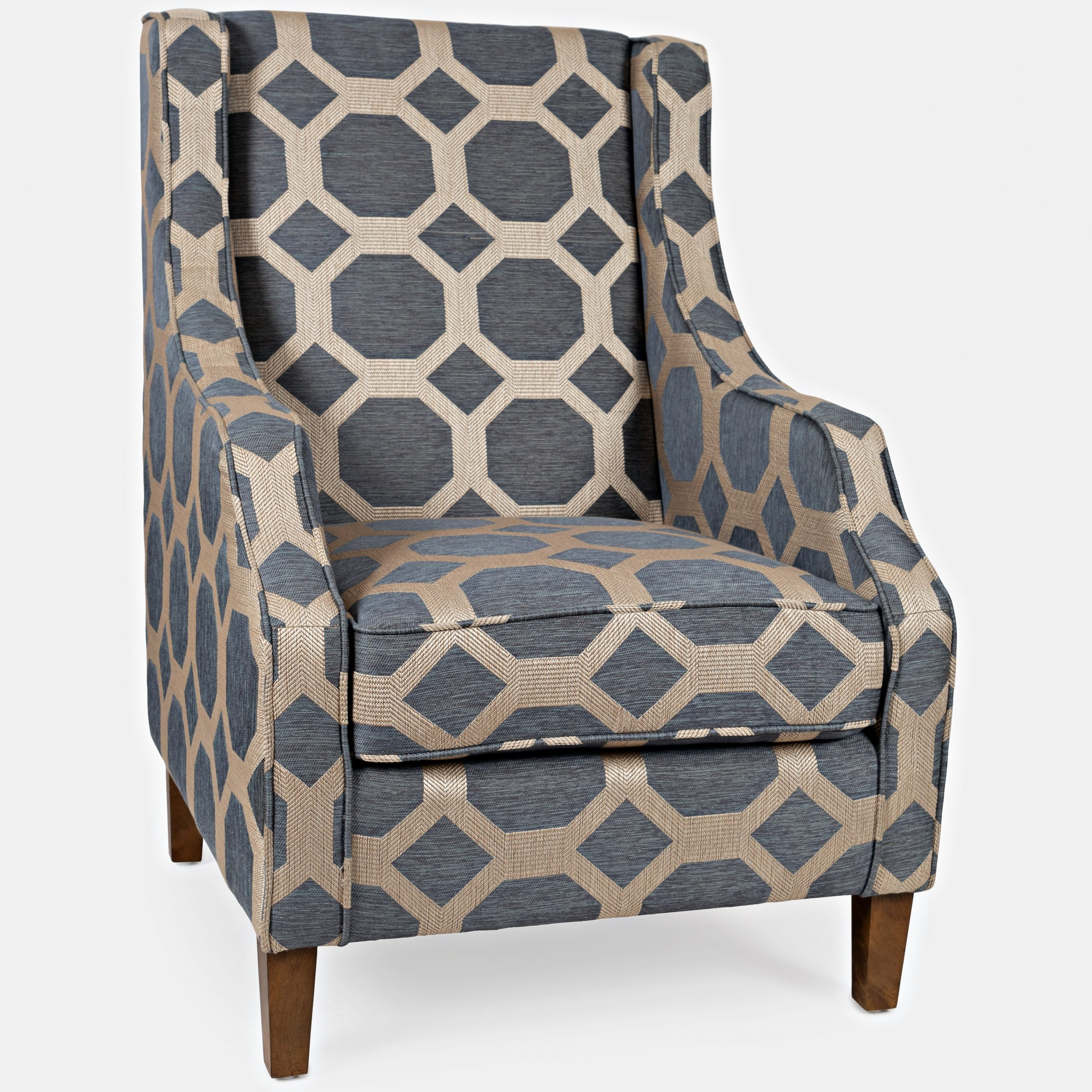 Aïda Wingback Chair For Bouck Wingback Chairs (View 12 of 15)