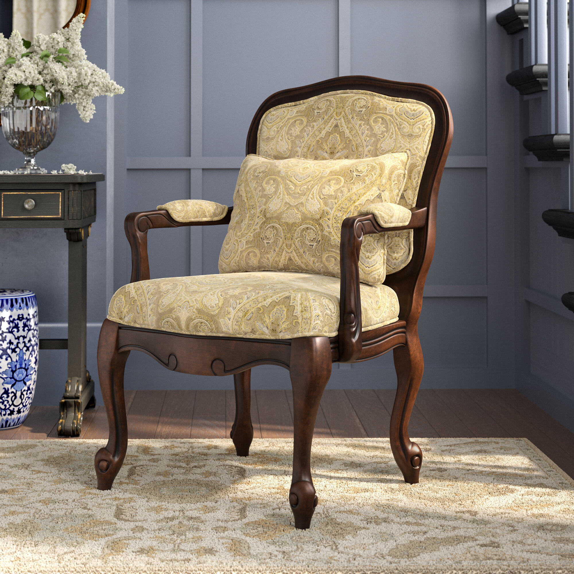 Albryna Armchair With Regard To Pitts Armchairs (View 10 of 15)