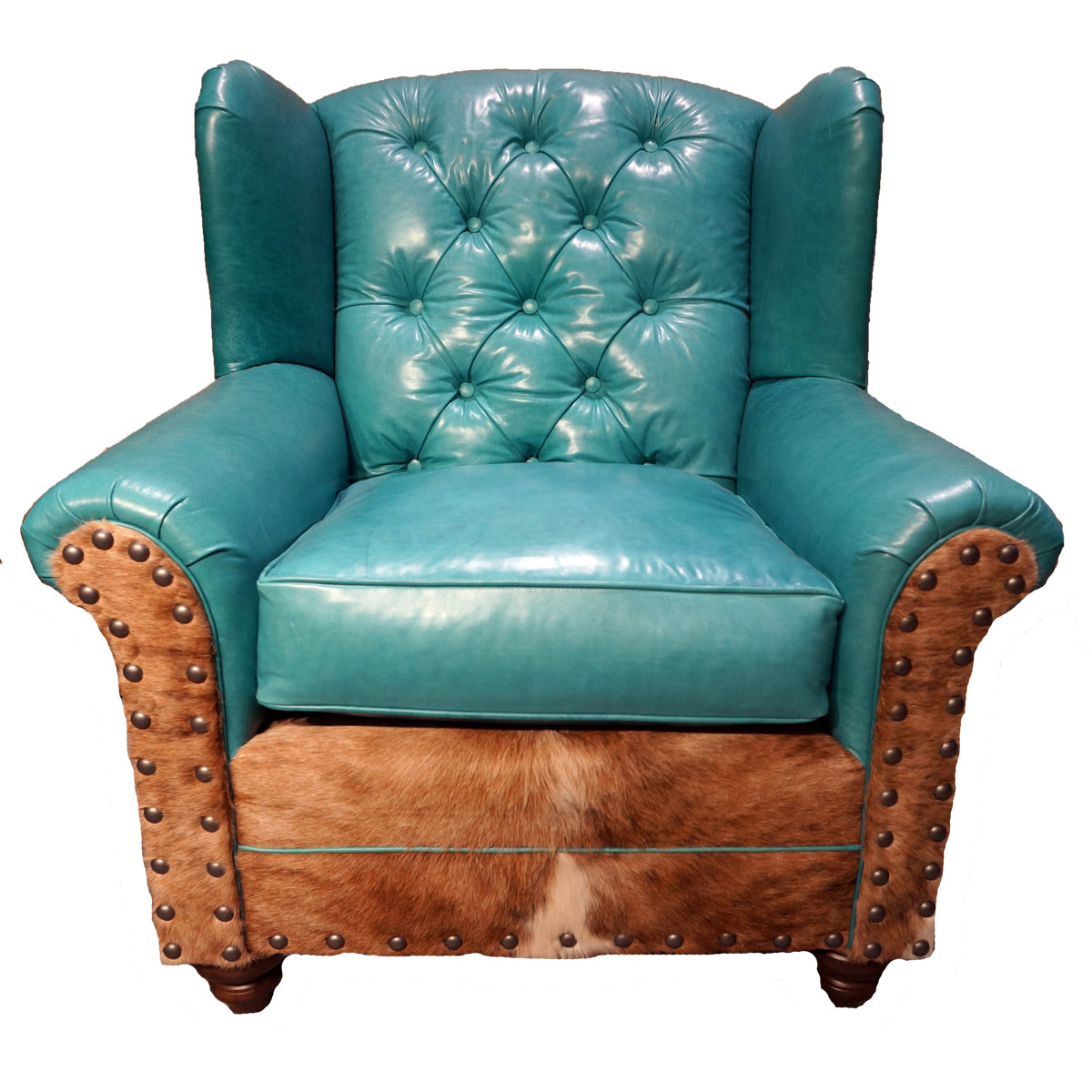 Albuquerque Turquoise Oversized Wingback Chair With Sweetwater Wingback Chairs (View 6 of 15)