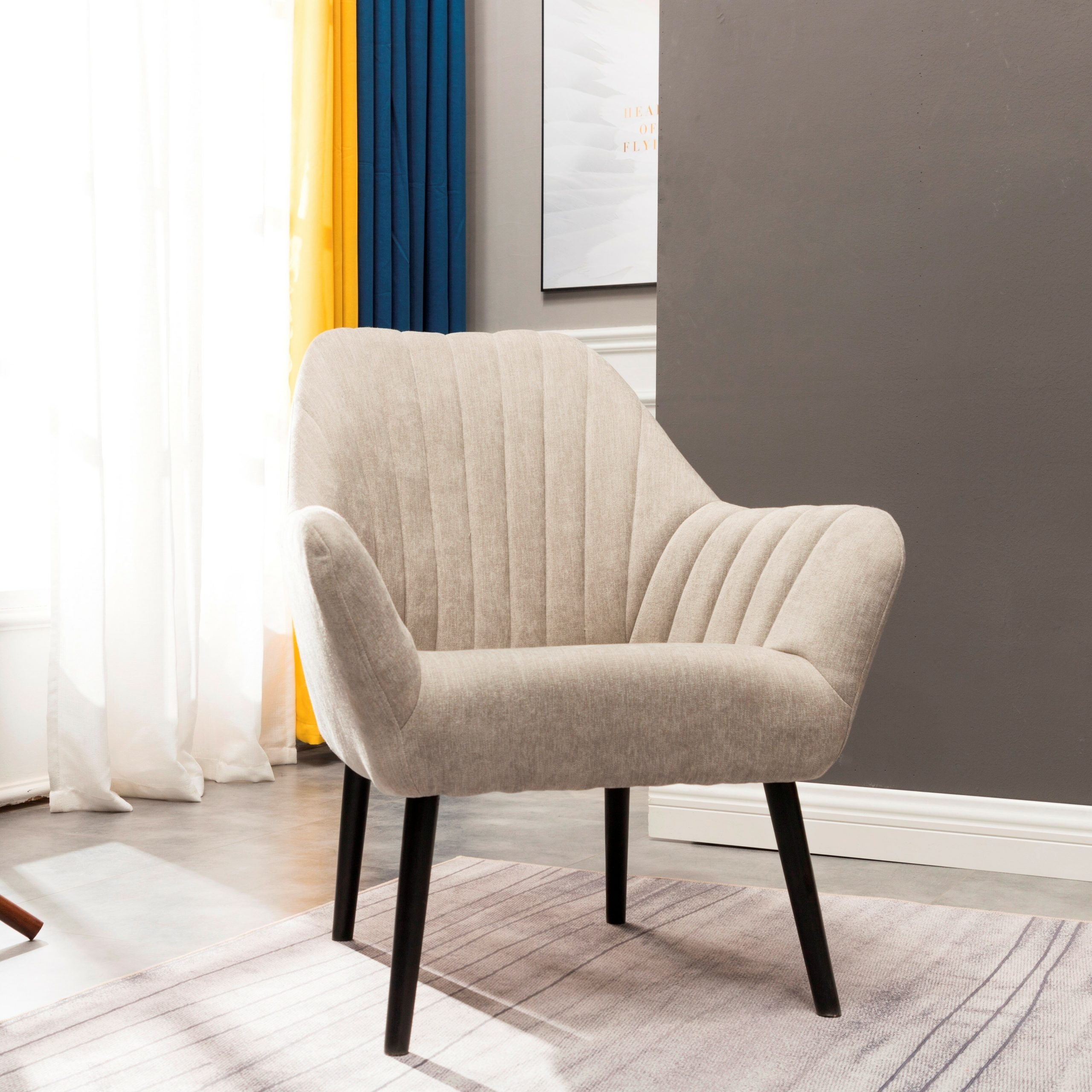 Alcera Armchair In Leppert Armchairs (View 3 of 15)
