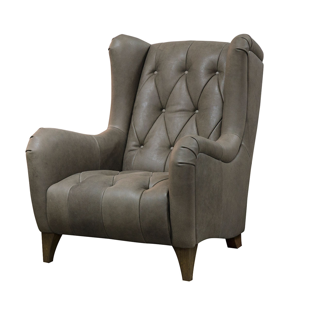 Alexander & James Viola Armchair – Leather Throughout James Armchairs (View 13 of 15)
