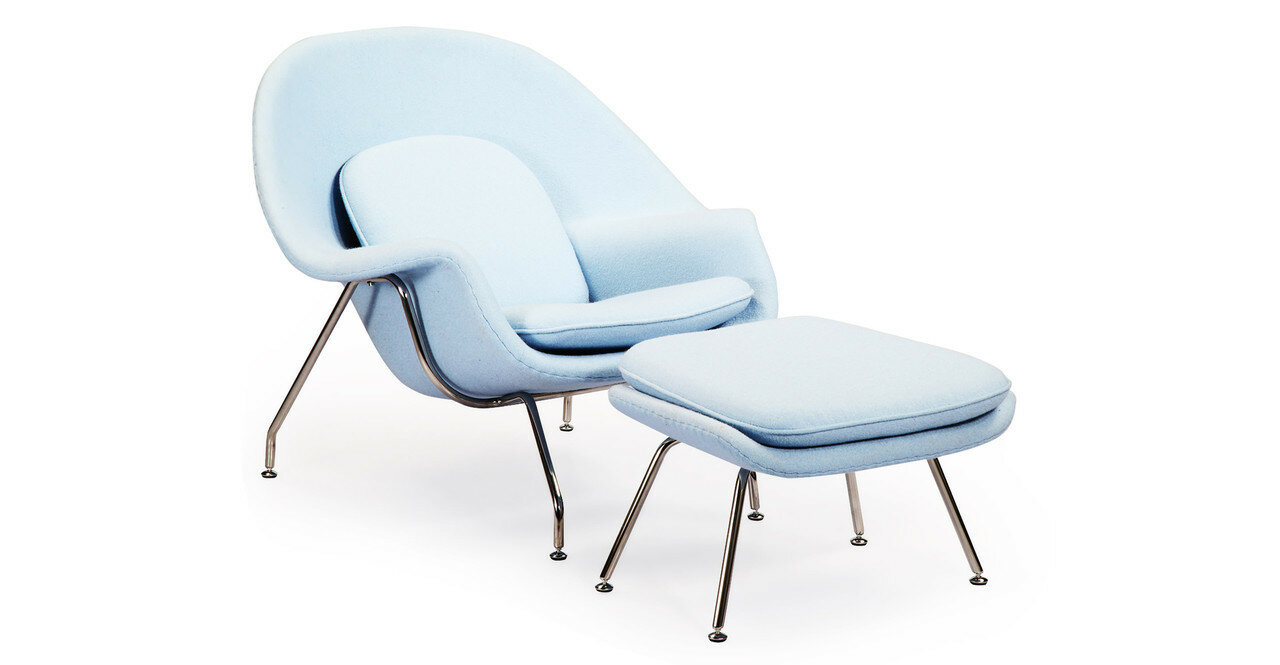 Alexandrina Lounge Chair With Ottoman Within Akimitsu Barrel Chair And Ottoman Sets (View 7 of 15)