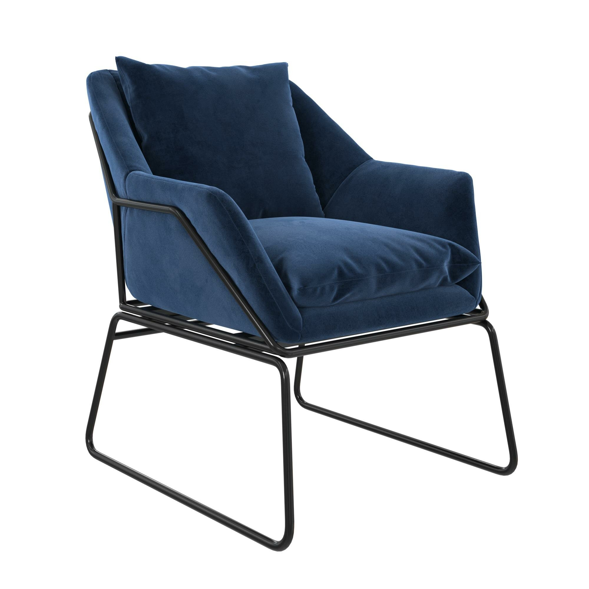 Alivia Armchair Throughout Aalivia Slipper Chairs (View 3 of 15)