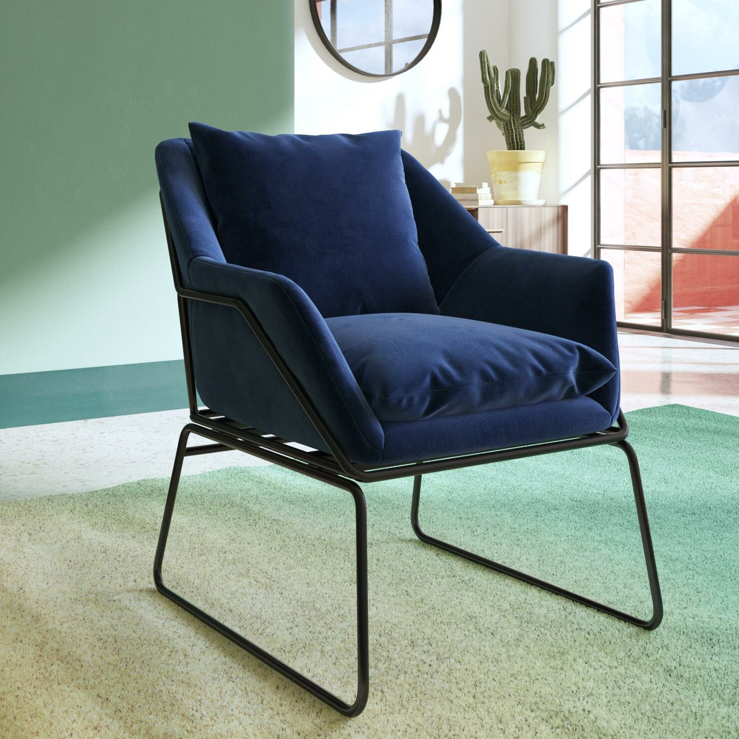 Alivia Armchair With Aalivia Slipper Chairs (View 4 of 15)