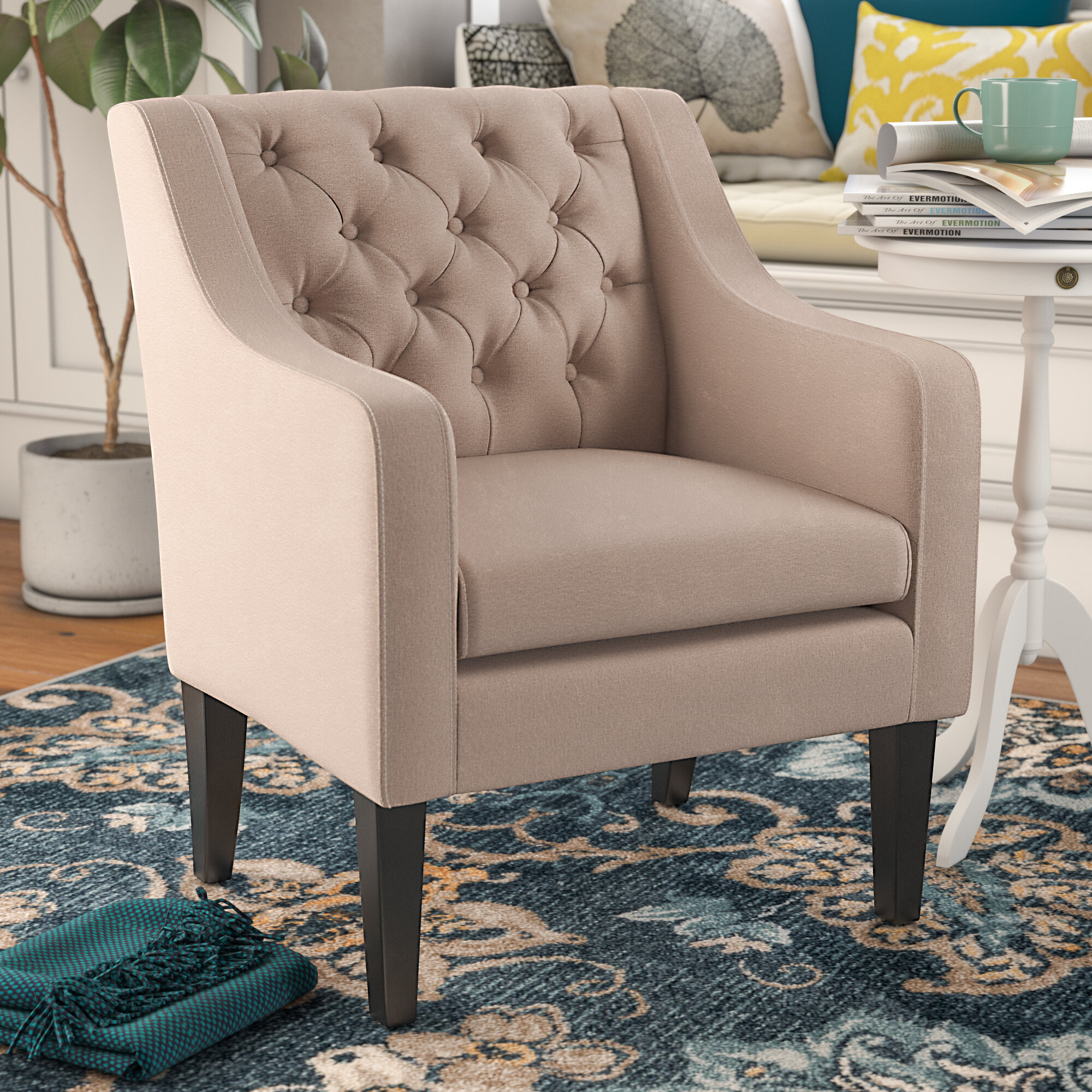 Amelie Armchair For Ringwold Armchairs (View 4 of 15)