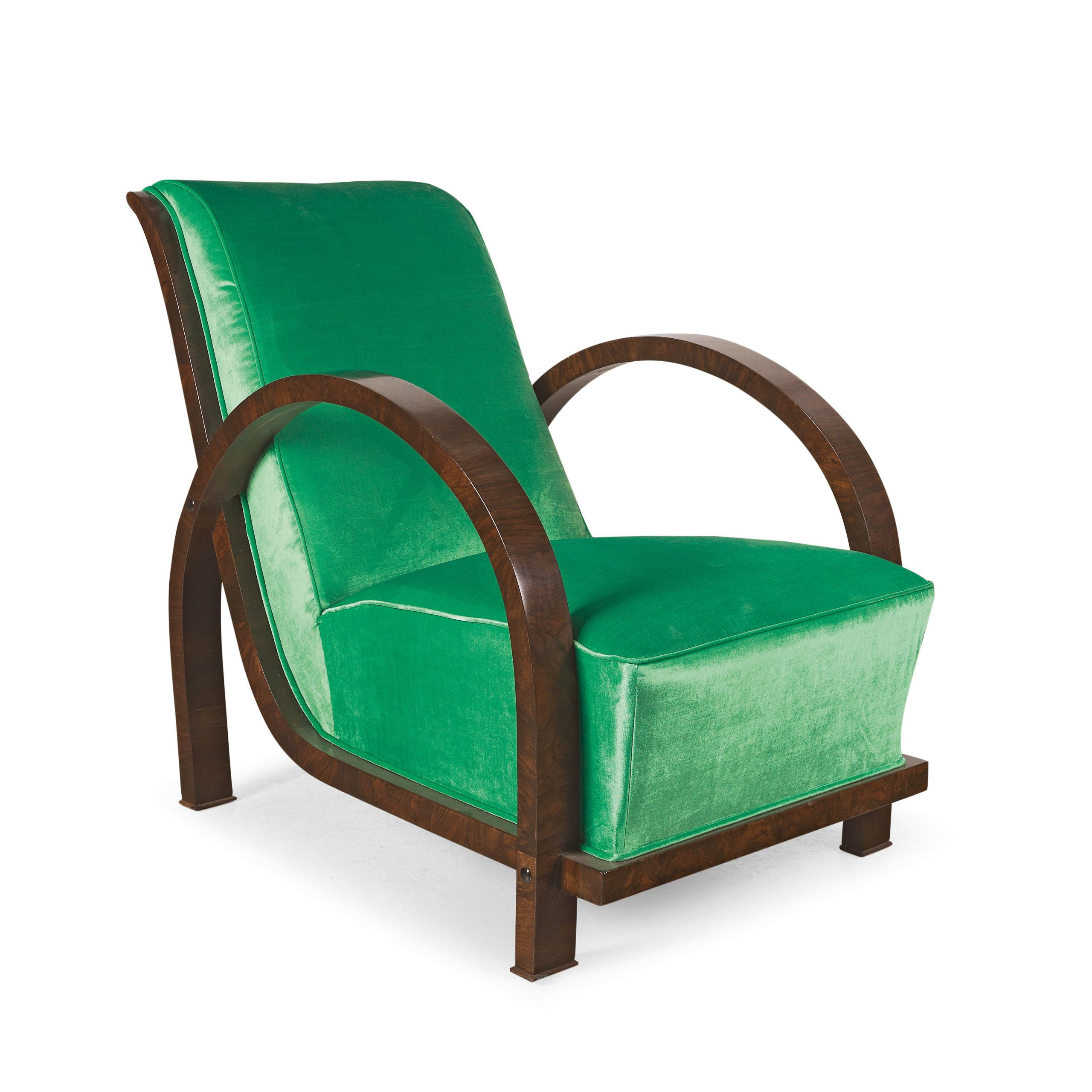 An Art Deco Armchair, – Furniture And Decorative Art 2019/03 In Autenberg Armchairs (View 10 of 15)