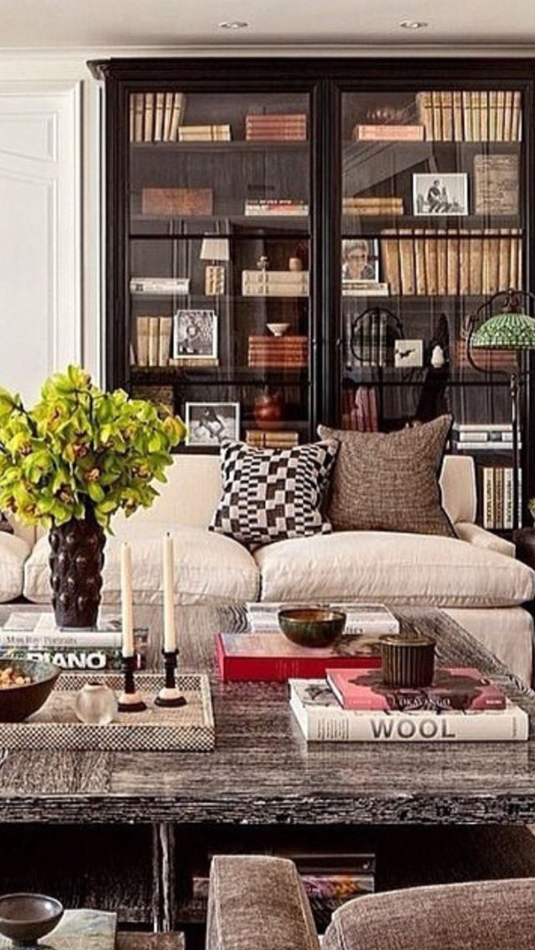 Andallshallbewell | House Interior, Interior Design, Home With Gallin Wingback Chairs (View 10 of 15)