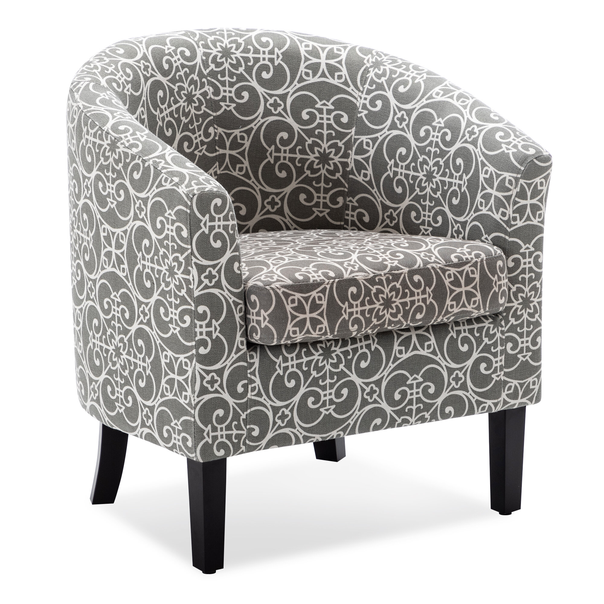 Featured Image of Munson Linen Barrel Chairs