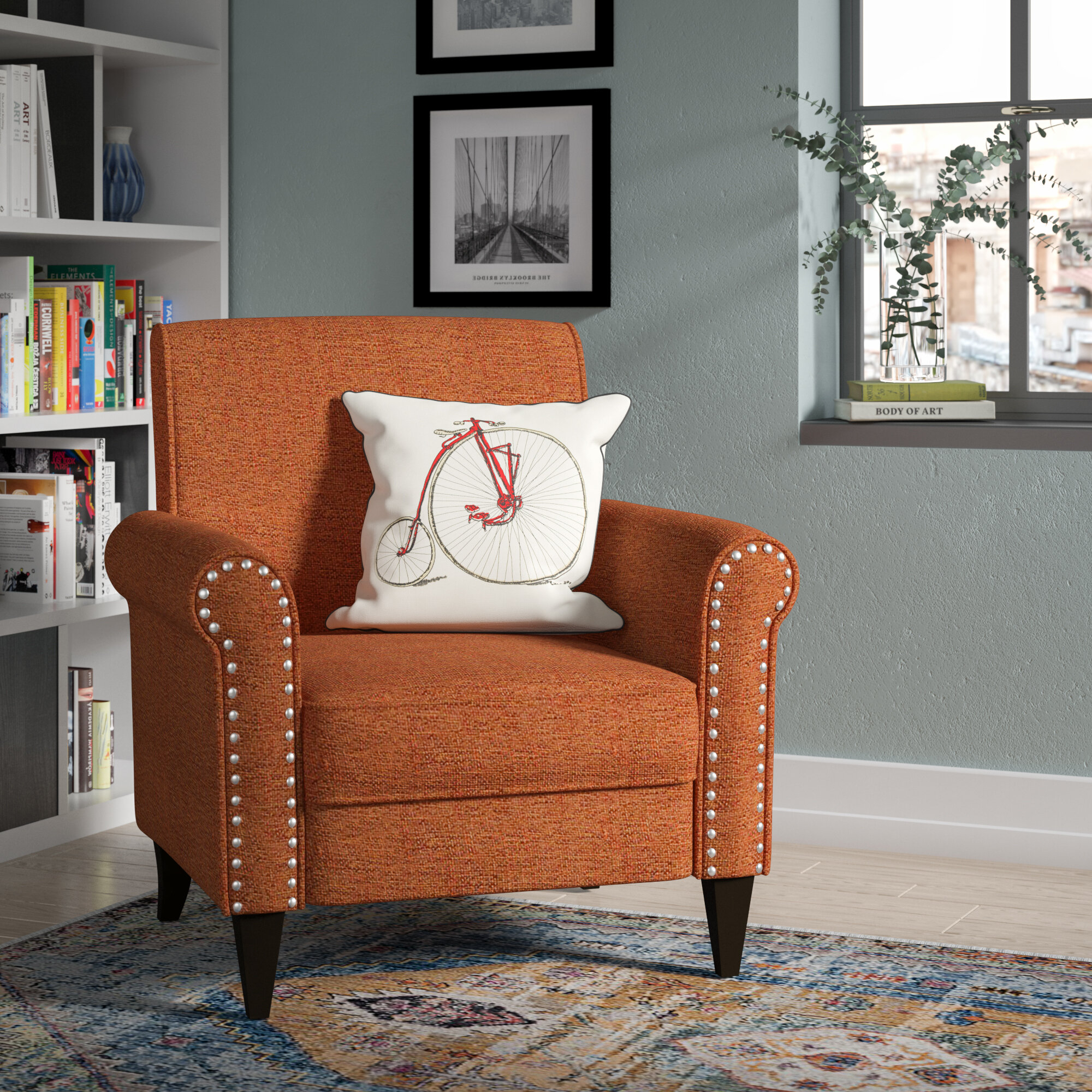 Andover Mills™ Pitts Armchair & Reviews | Wayfair In Pitts Armchairs (View 5 of 15)