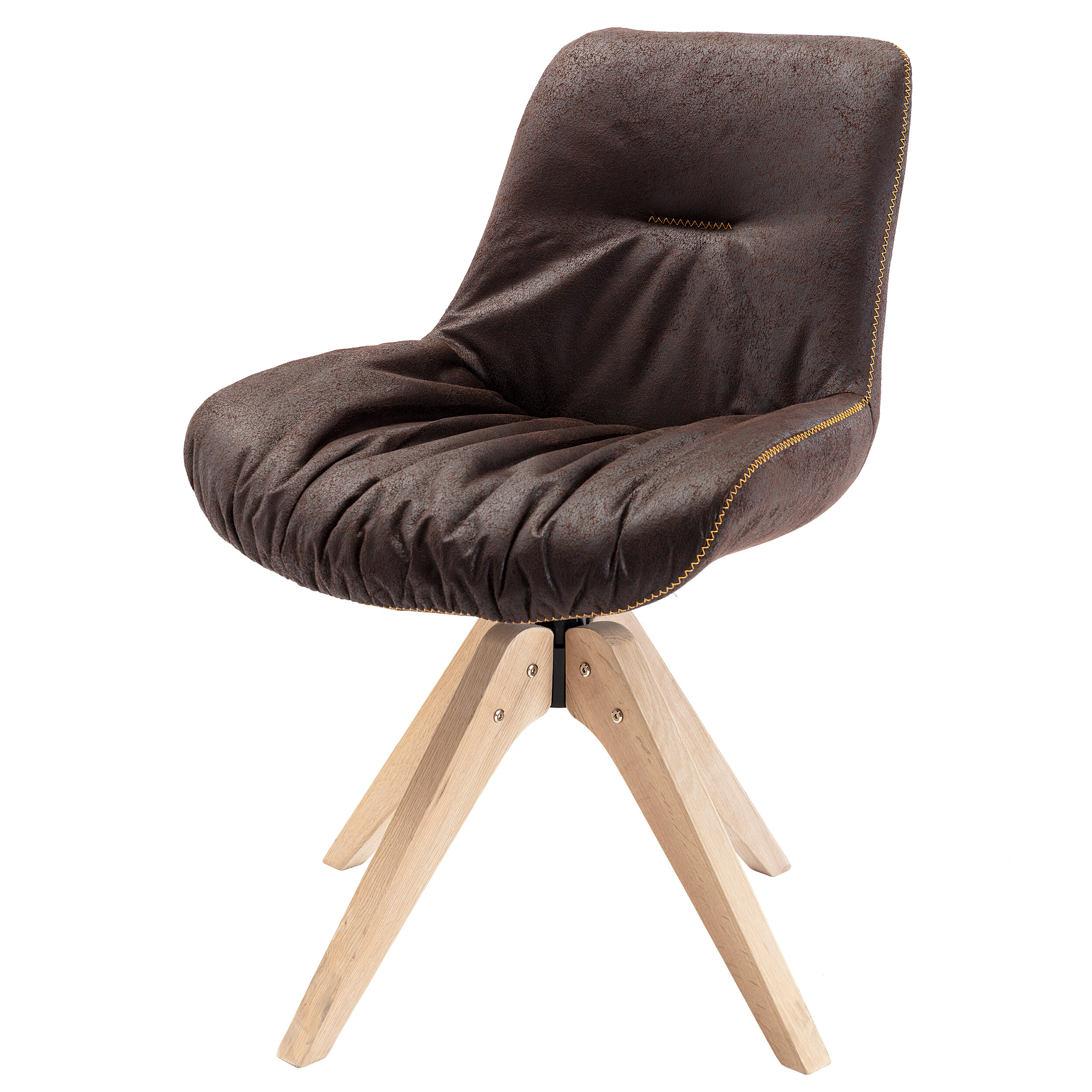Arabelle Swivel Side Chair Throughout Brister Swivel Side Chairs (View 8 of 15)