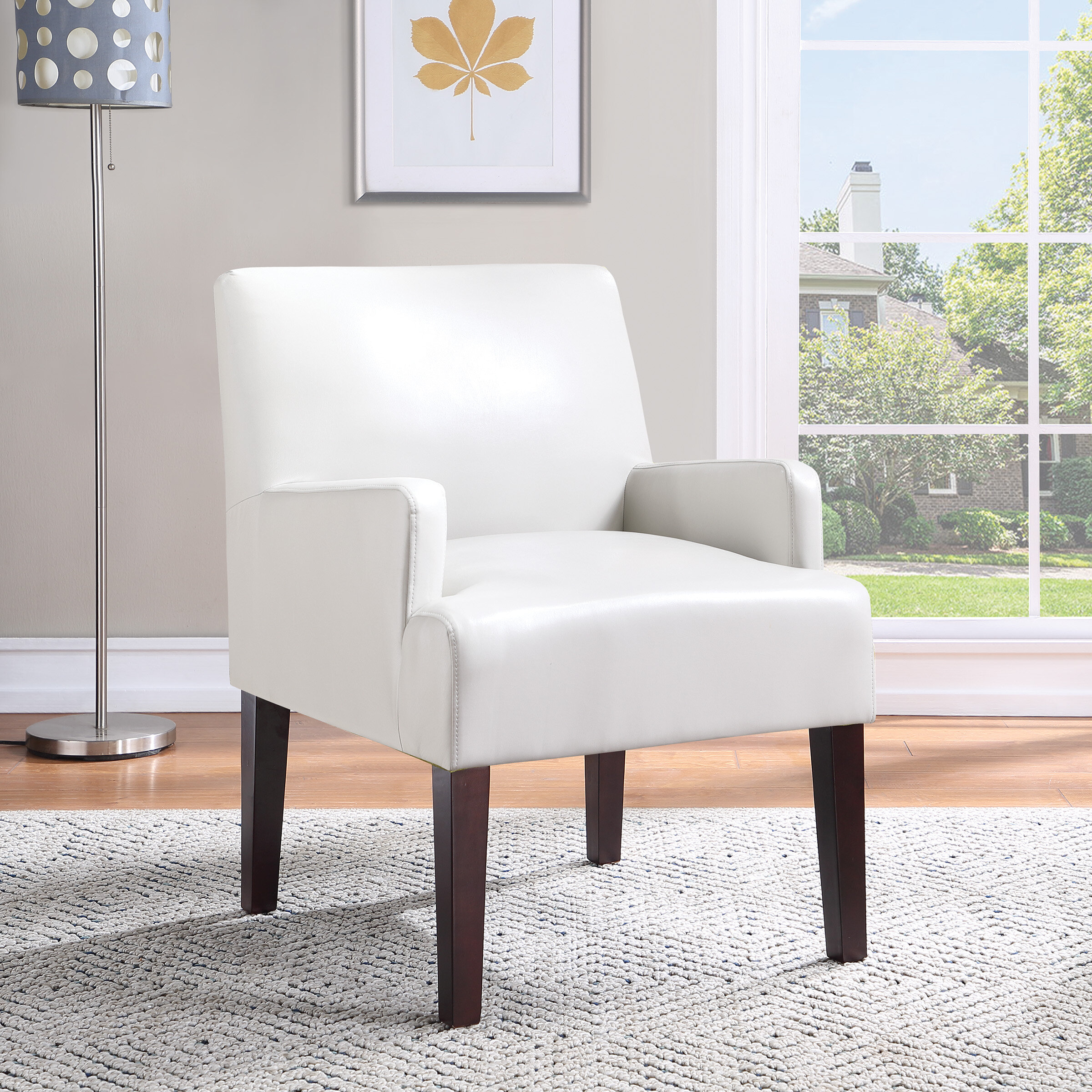 Arm Beige Accent Chairs You'Ll Love In 2021 | Wayfair In Bethine Polyester Armchairs (Set Of 2) (View 12 of 15)