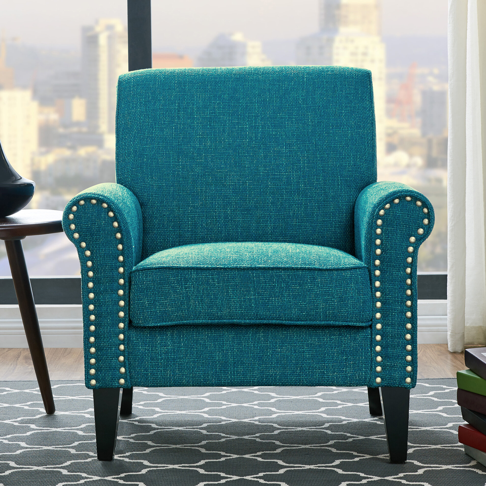 Arm Blue Accent Chairs You'Ll Love In 2021 | Wayfair With Pitts Armchairs (View 6 of 15)