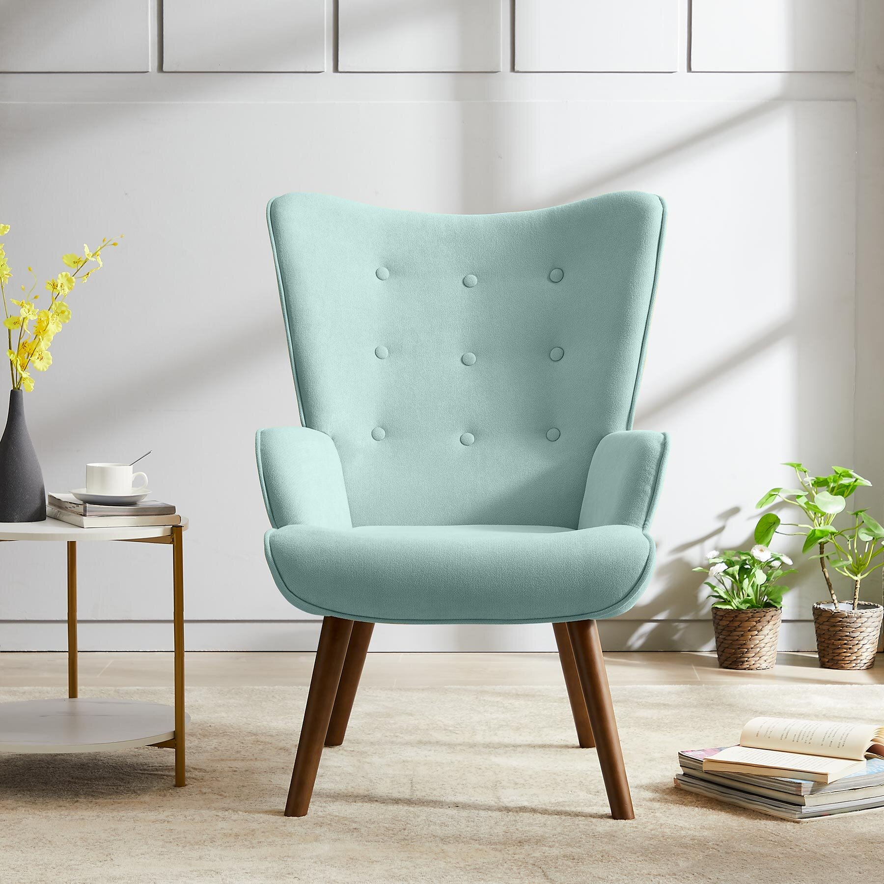 Arm Metal Accent Chairs You'Ll Love In 2021 | Wayfair Throughout Lakeville Armchairs (View 15 of 15)