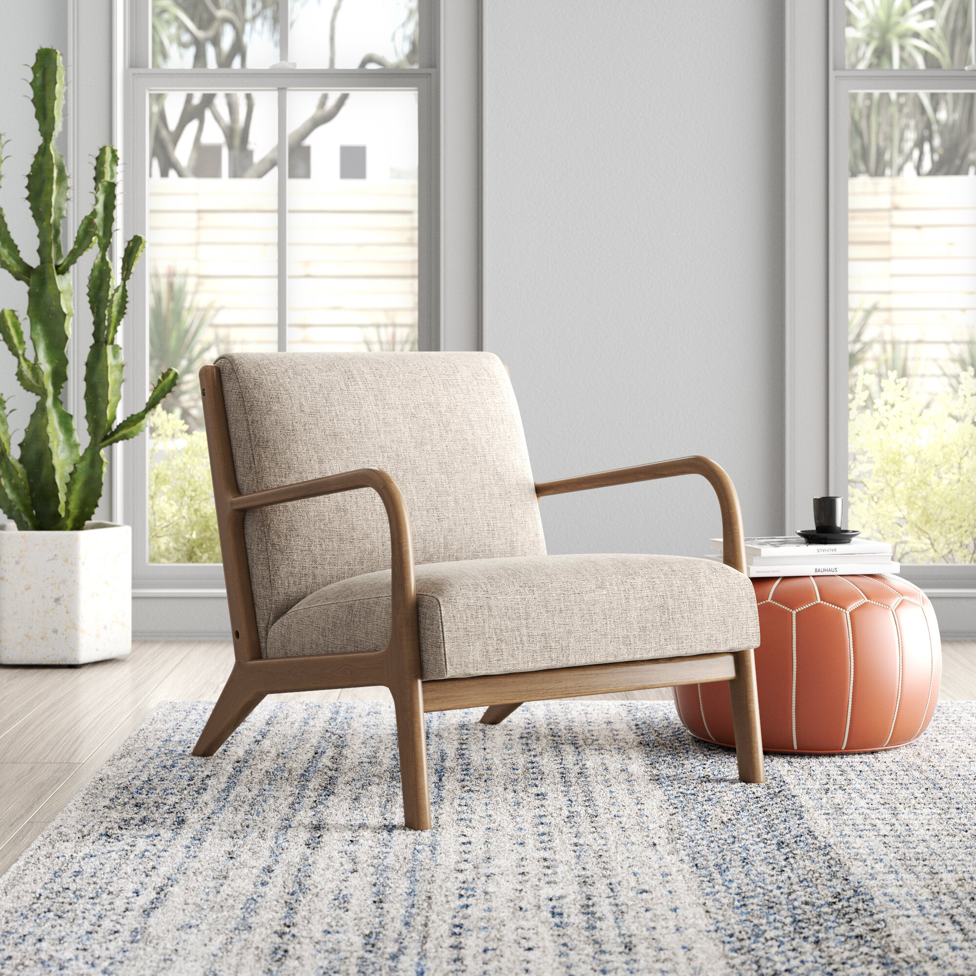 Arm Modern & Contemporary Accent Chairs You'Ll Love In 2021 Inside Lakeville Armchairs (View 2 of 15)