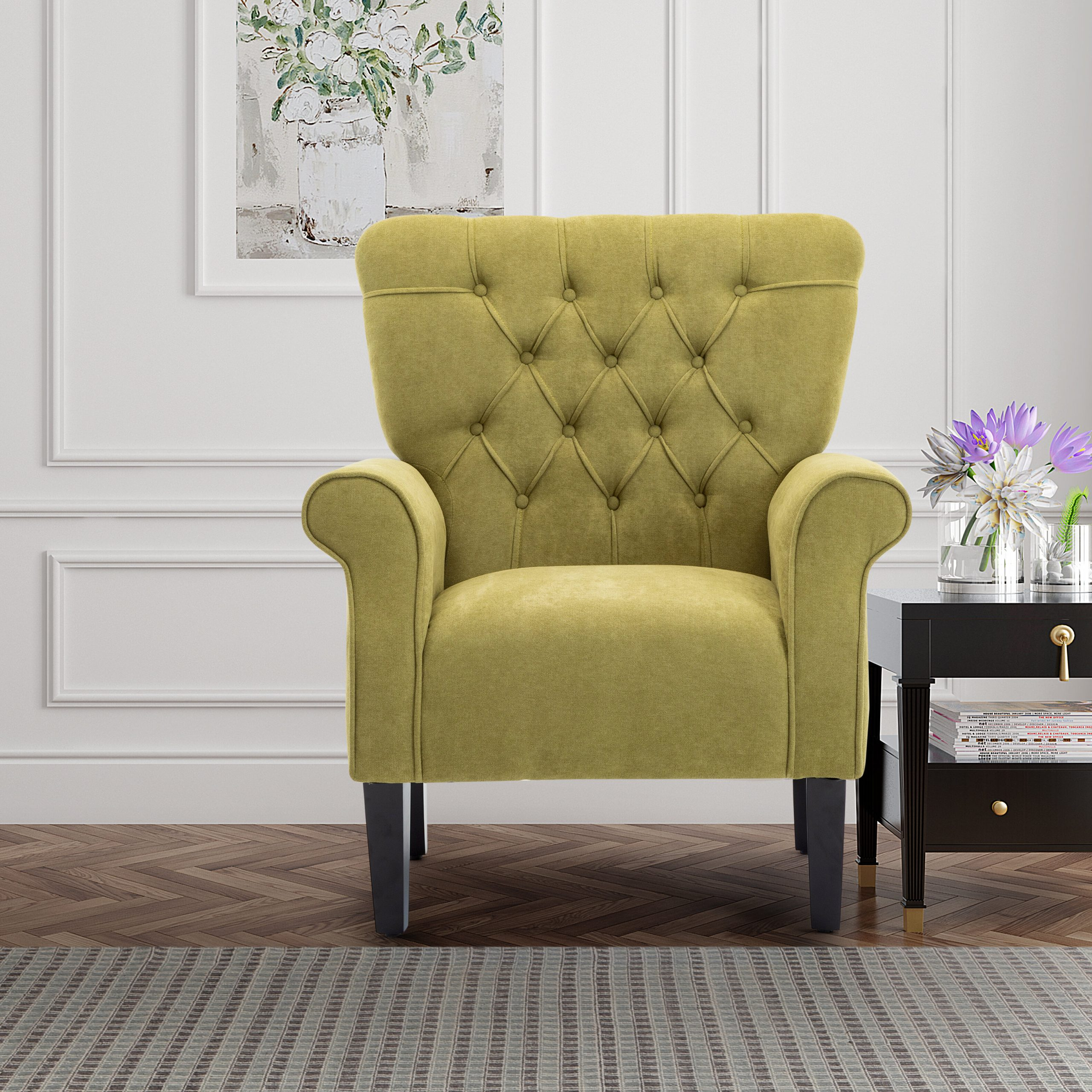 Arm Modern & Contemporary Accent Chairs You'Ll Love In 2021 Pertaining To Lakeville Armchairs (View 9 of 15)