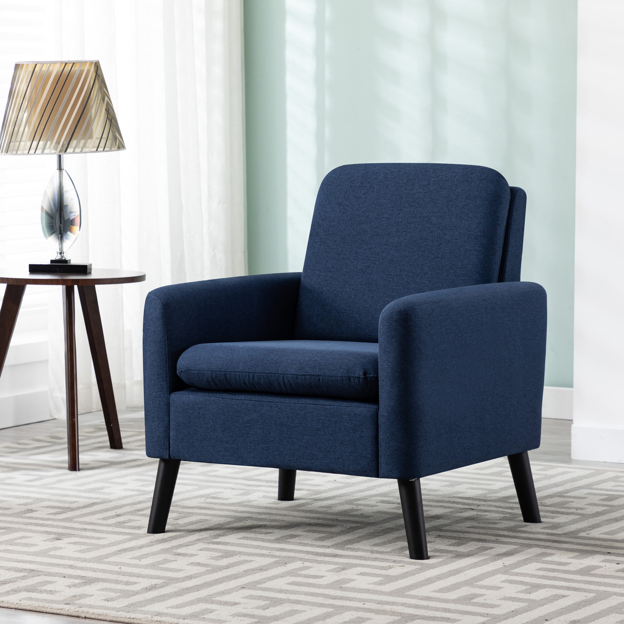 Arm Modern & Contemporary Accent Chairs You'Ll Love In 2021 With Regard To Lakeville Armchairs (View 11 of 15)