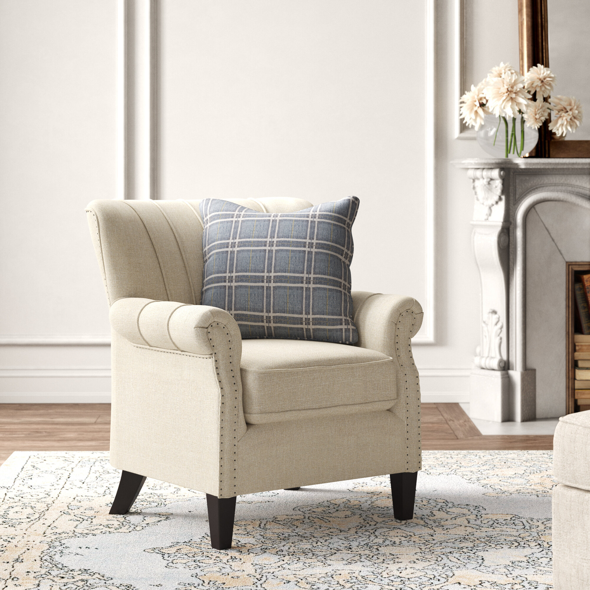 Armchairs | Wayfair Within Dallin Arm Chairs (View 5 of 15)
