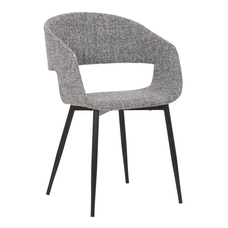 Armen Living Jocelyn Contemporary/Modern Polyester/Polyester Throughout Polyester Blend Armchairs (View 12 of 15)