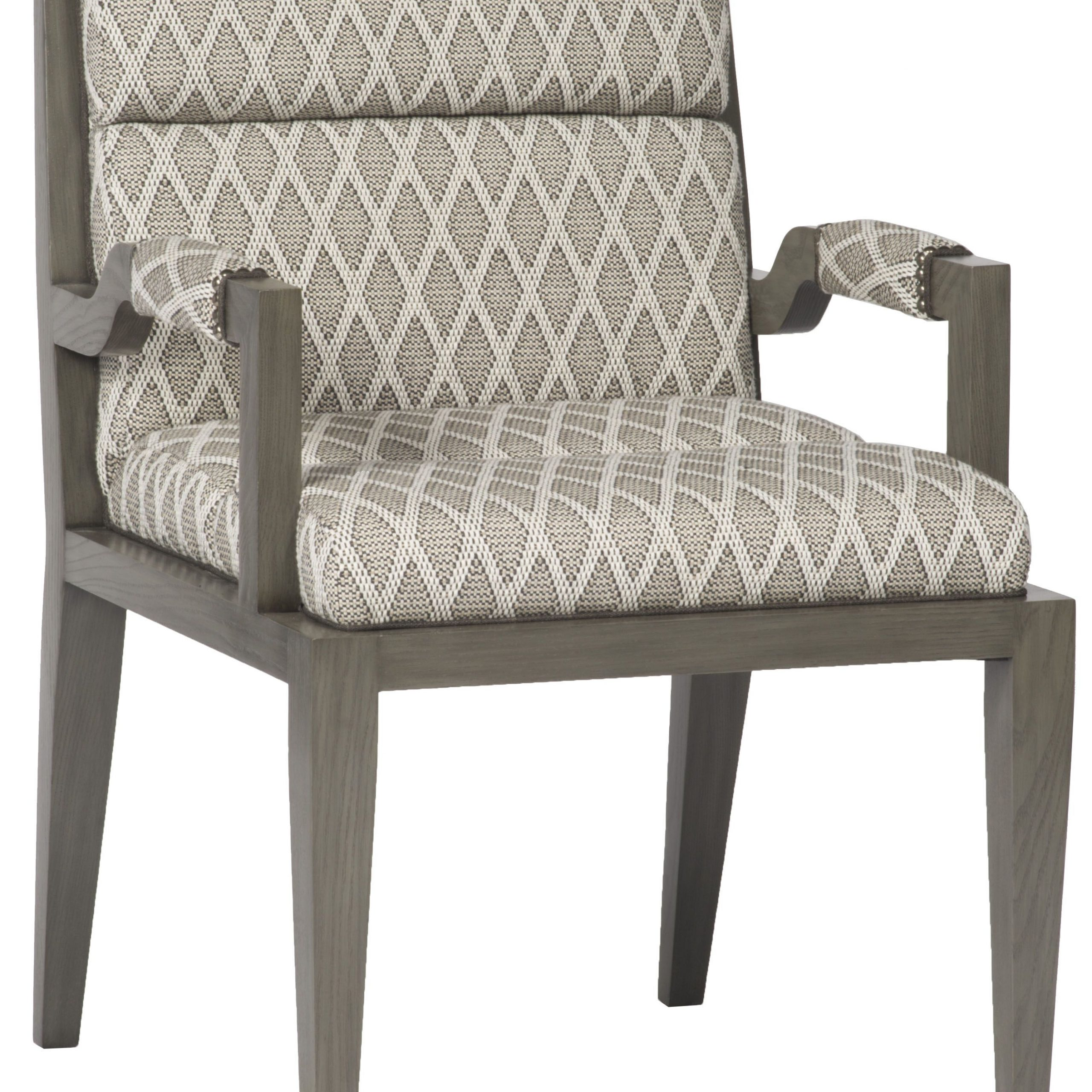 Armory Square Arm Chair 9712A | Vanguard Furniture With Armory Fabric Armchairs (View 3 of 15)