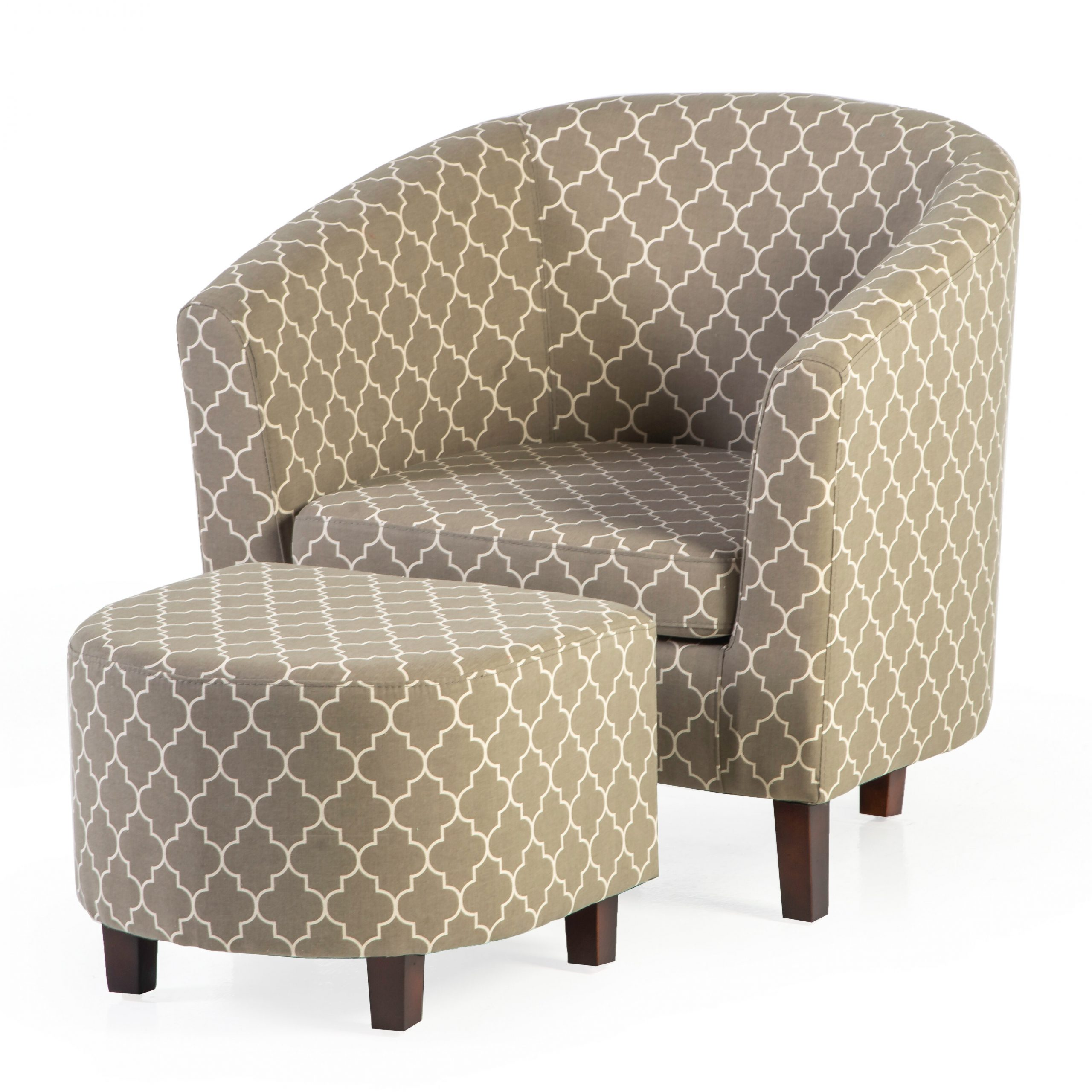 Featured Image of Artemi Barrel Chair And Ottoman Sets