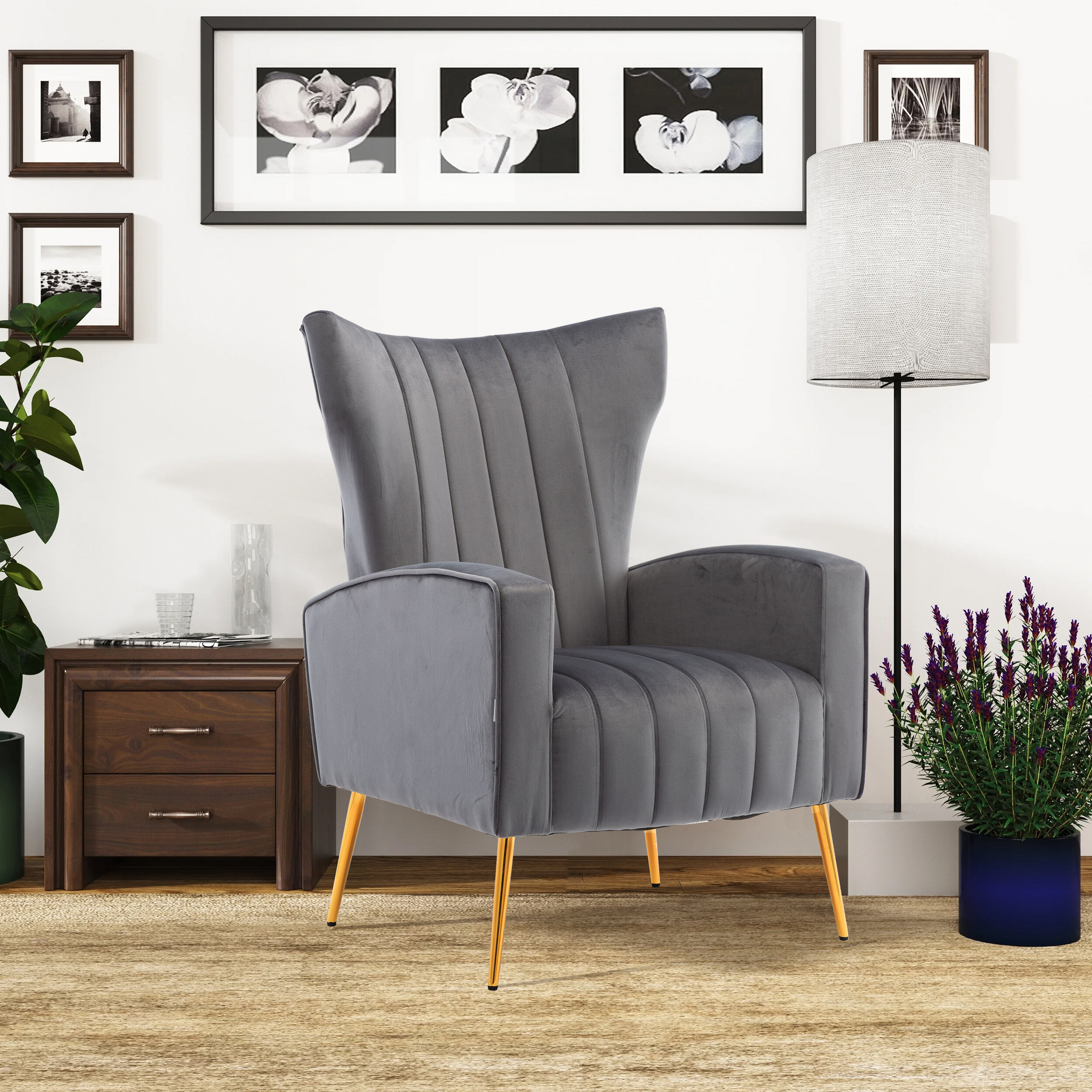 Artemis Knitted Armchair In Artemi Barrel Chair And Ottoman Sets (View 6 of 15)