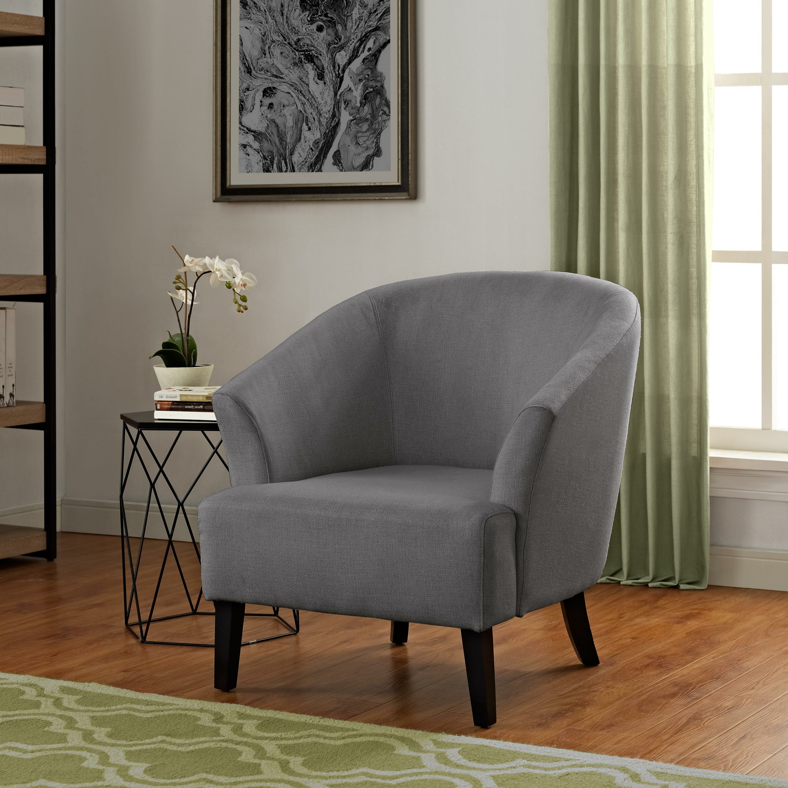 Artesia Barrel Chair Pertaining To Navin Barrel Chairs (View 9 of 15)
