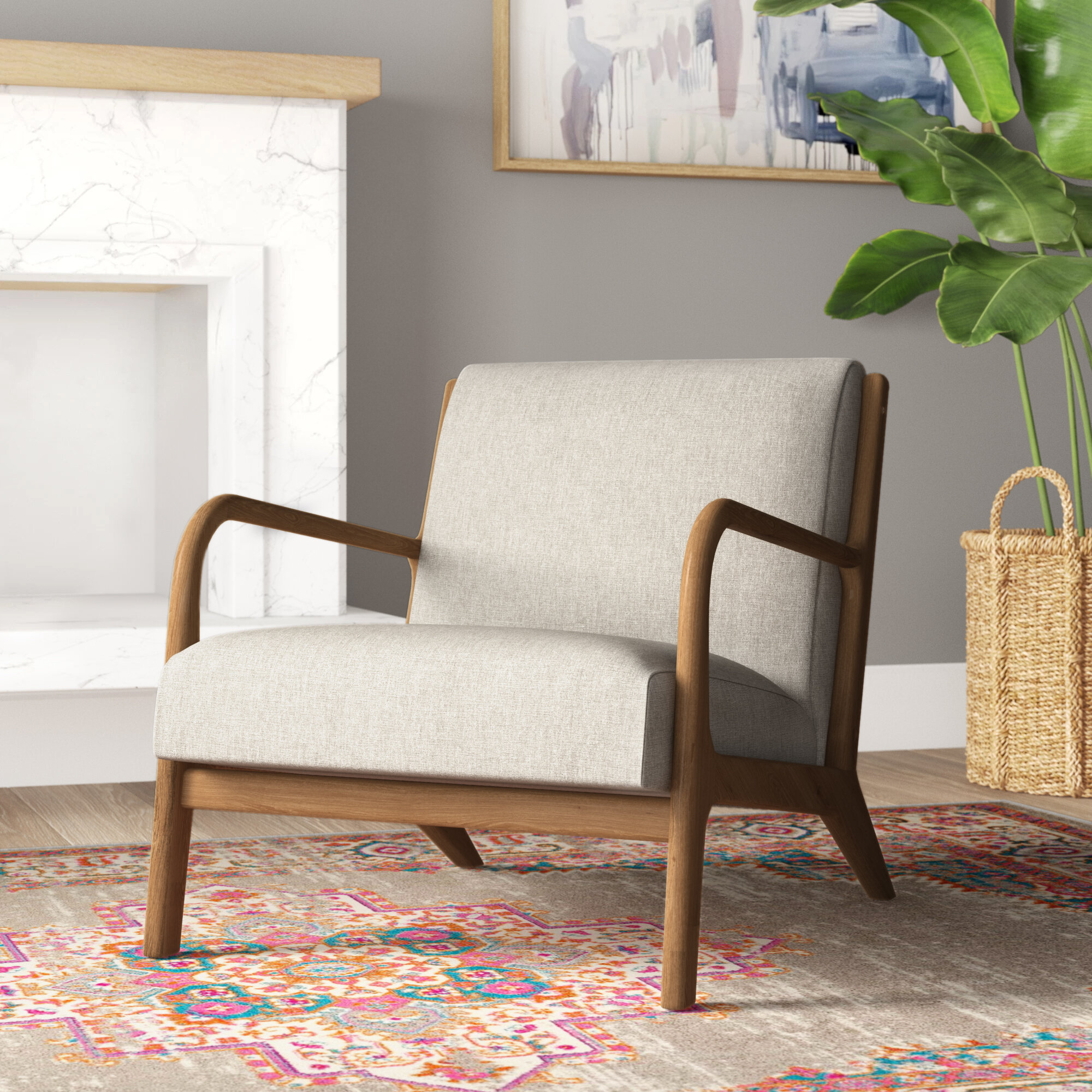 Ashbourne Armchair & Reviews | Joss & Main For Ronaldo Polyester Armchairs (View 15 of 15)