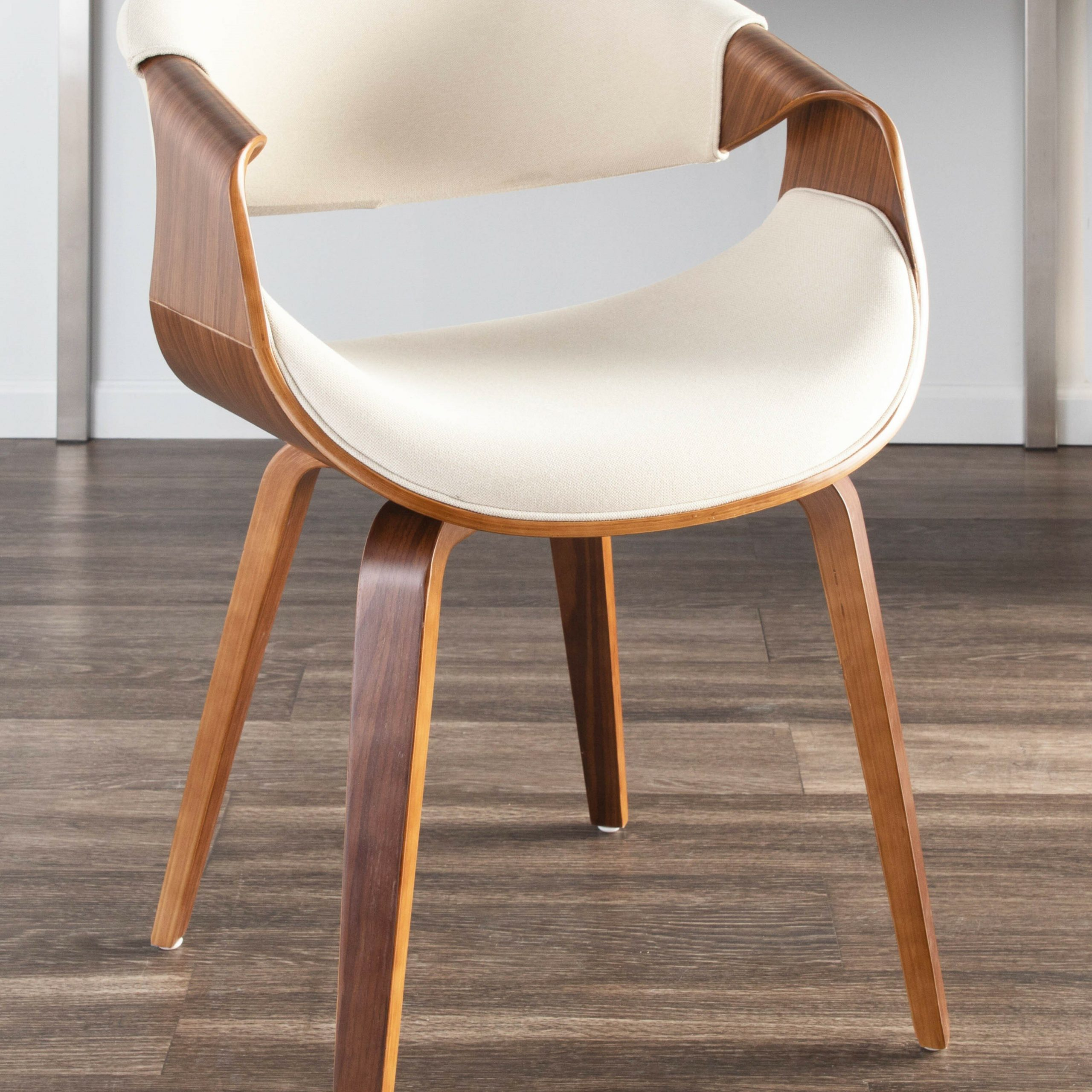 Auburn Upholstered Arm Chair & Reviews | Allmodern Intended For Liston Faux Leather Barrel Chairs (View 9 of 15)