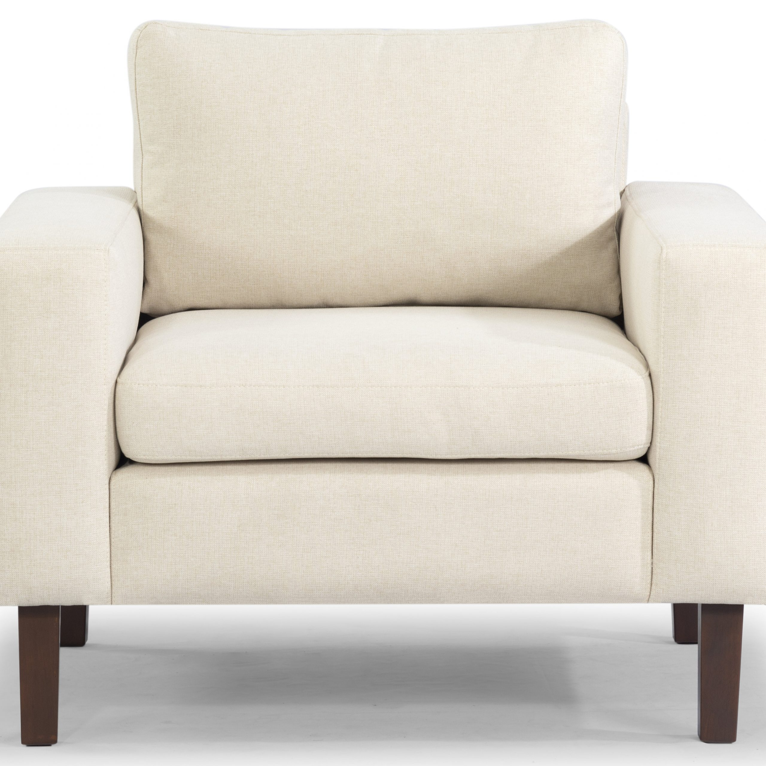 """Azekiel 34"""" W Polyester Blend Armchair With Regard To Leia Polyester Armchairs (View 9 of 15)"""