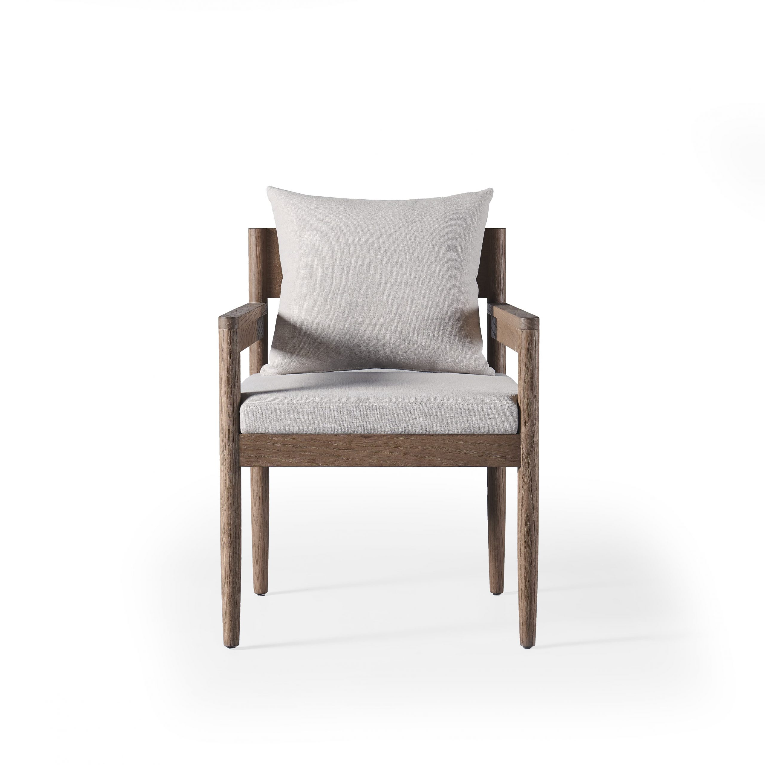 Balmain Square Back Dining Chair (Clearance) – Outdoor With Chiles Linen Side Chairs (View 12 of 15)