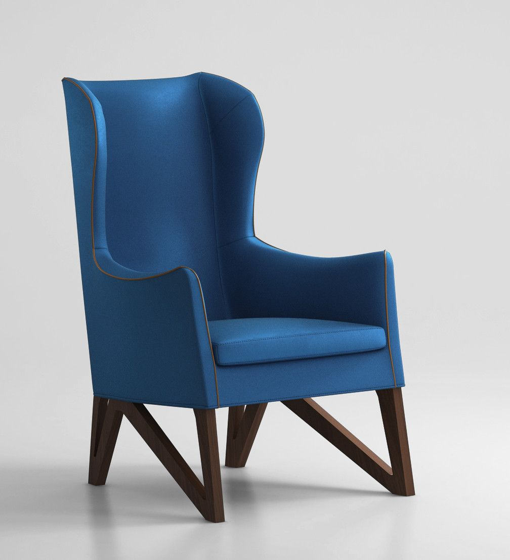 Bar High Chair   Armchair, Chair, Furniture Intended For Danny Barrel Chairs (Set Of 2) (View 10 of 15)