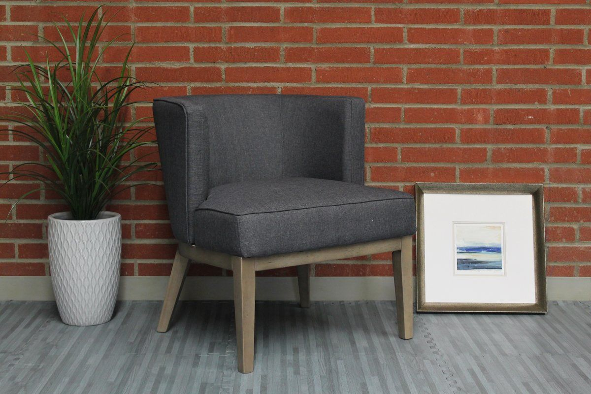Barnard Barrel Chair | Most Comfortable Office Chair, Office Throughout Barnard Polyester Barrel Chairs (View 3 of 15)