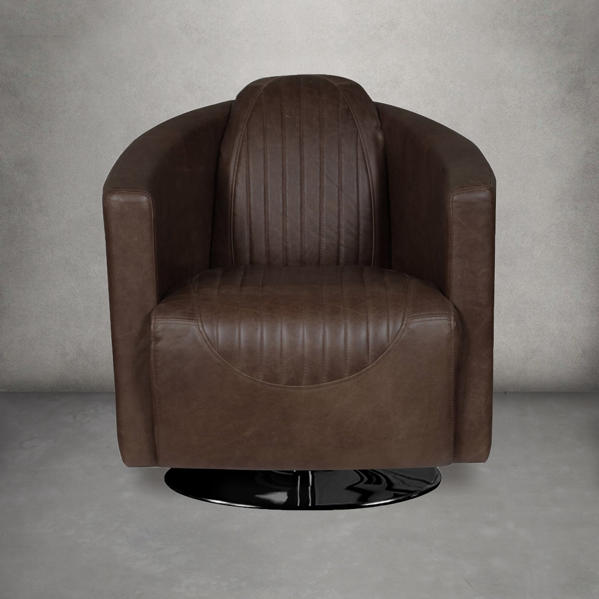 Barrel 17 Stories Accent Chairs You'Ll Love In 2021 | Wayfair Throughout Hazley Faux Leather Swivel Barrel Chairs (View 3 of 15)