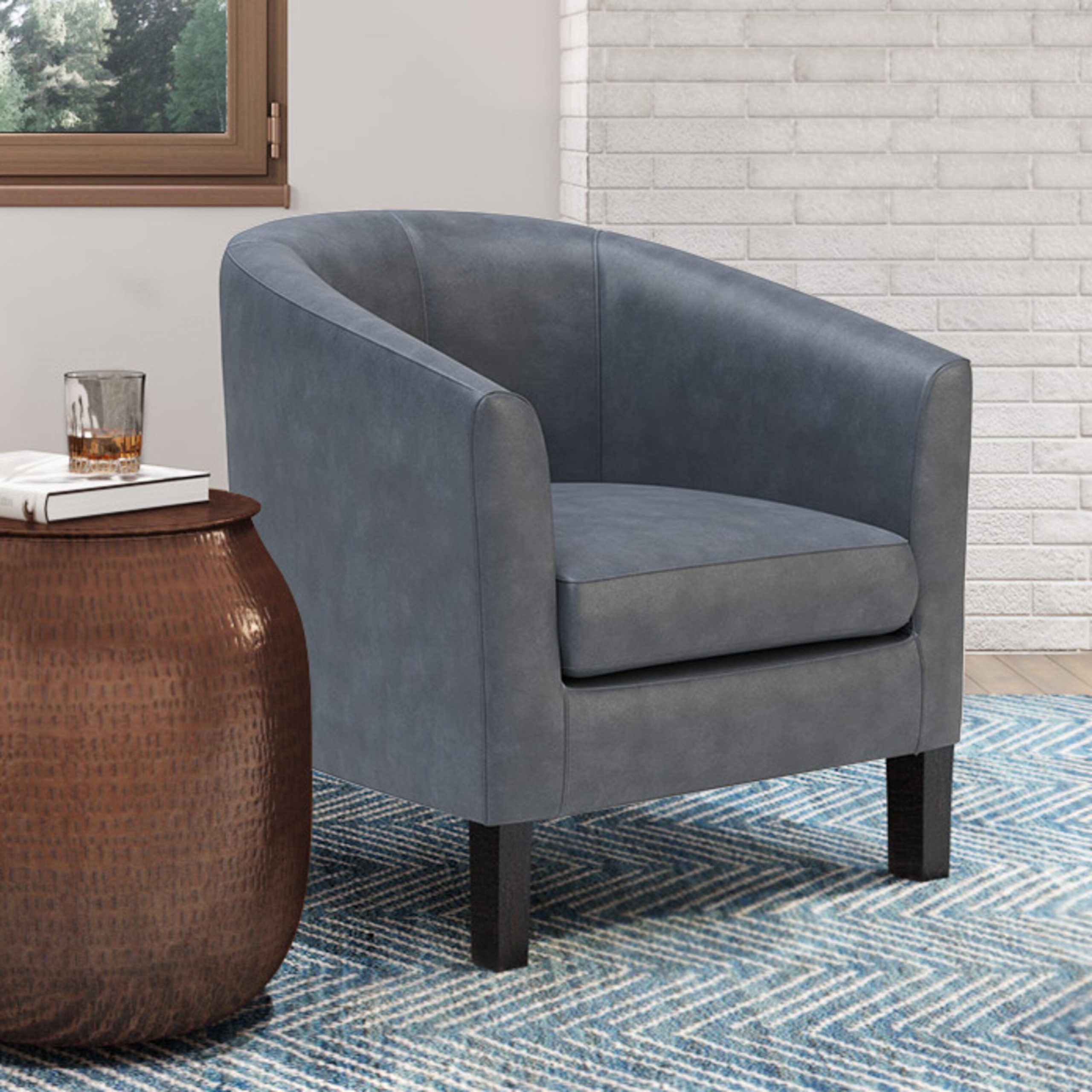 Barrel Accent Chairs On Sale | Wayfair With Alwillie Tufted Back Barrel Chairs (View 6 of 15)