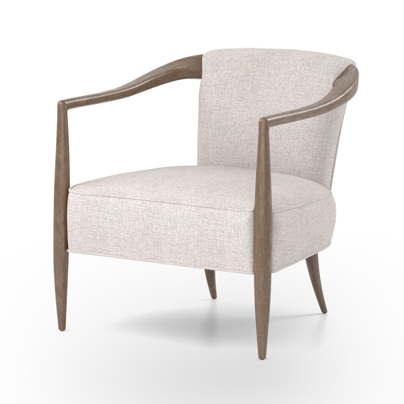 Barrel Scandinavian Accent Chairs You'Ll Love In 2021 | Wayfair Throughout Claudel Polyester Blend Barrel Chairs (View 2 of 15)