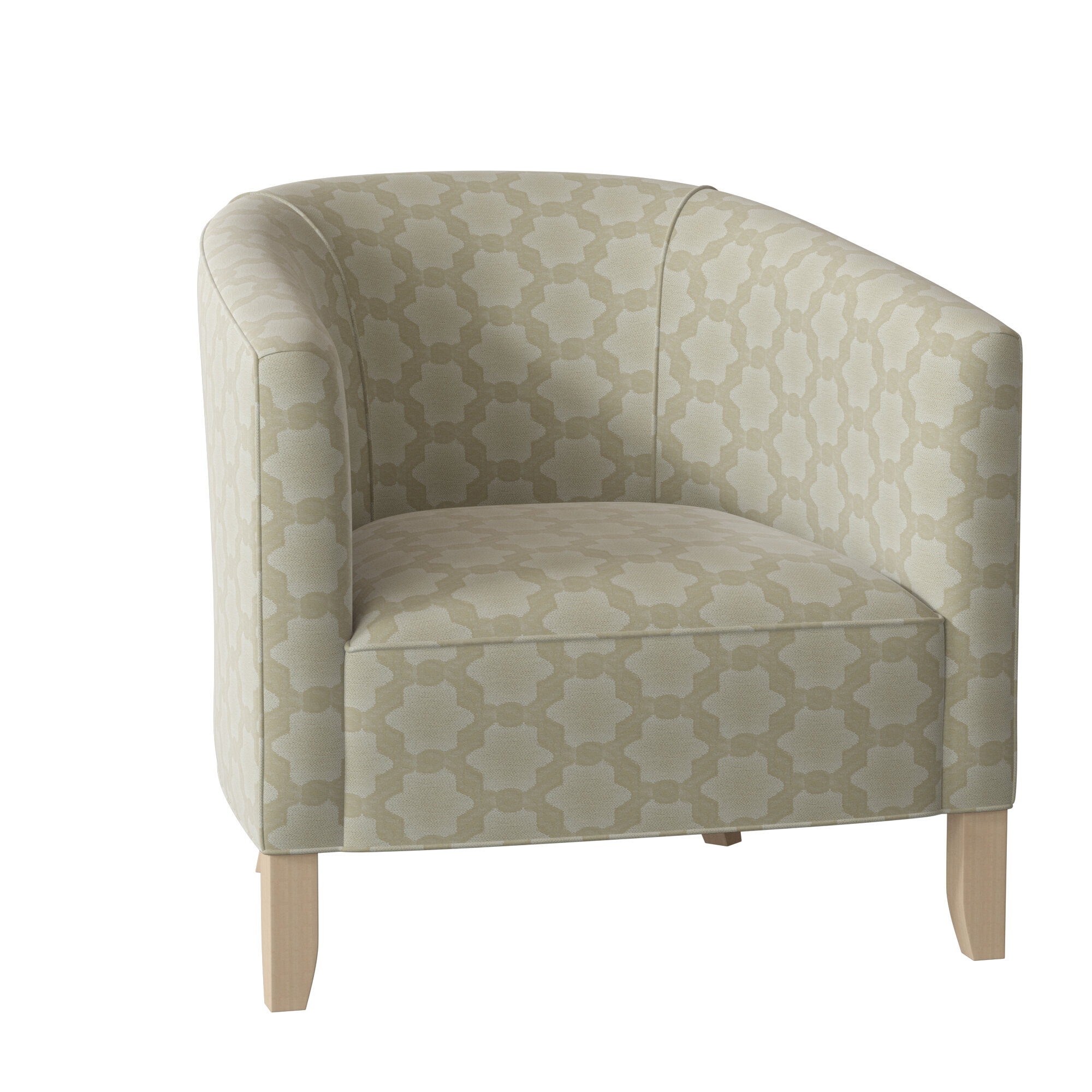 Barrel Yellow Accent Chairs You'Ll Love In 2021 | Wayfair For Coomer Faux Leather Barrel Chairs (View 14 of 15)