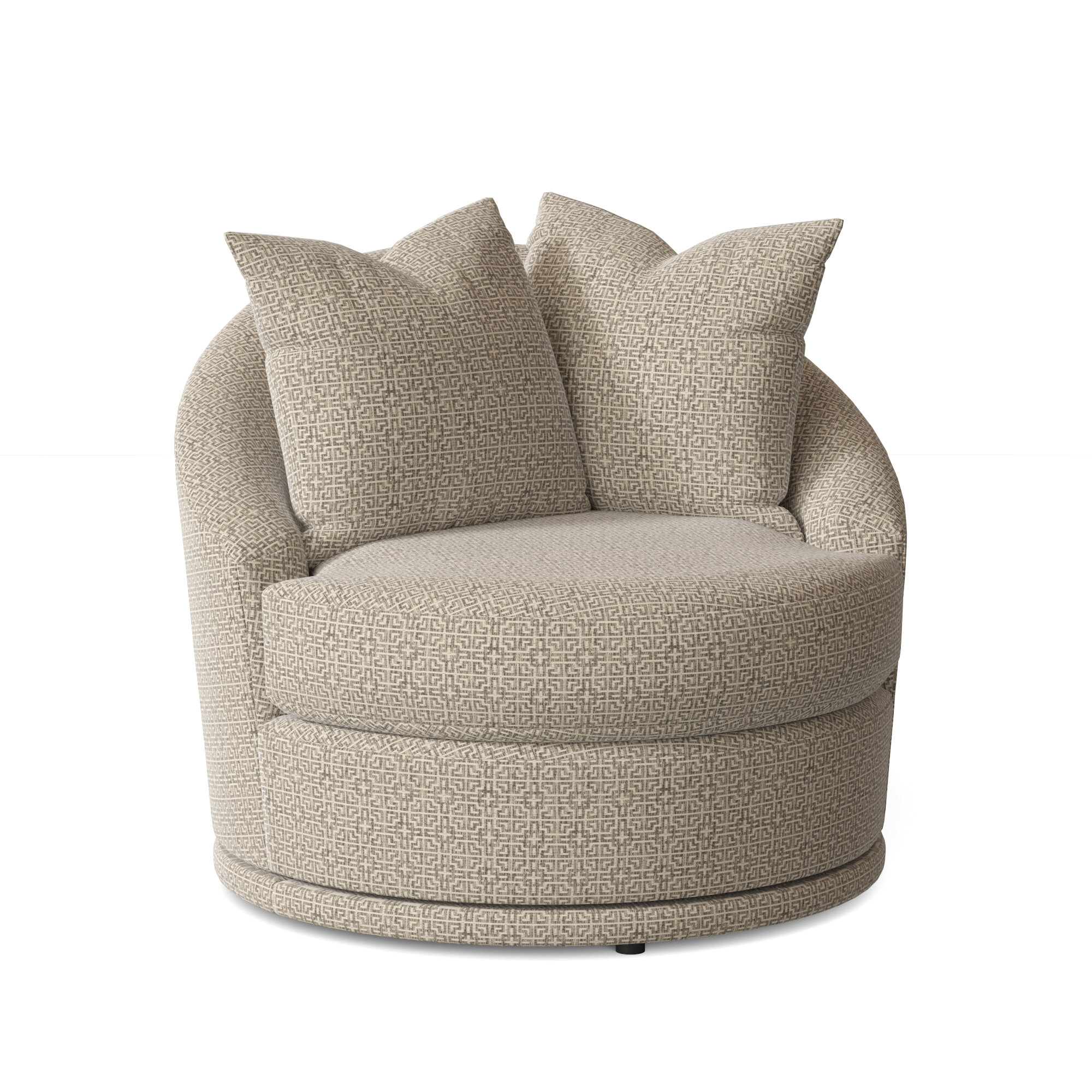 Barrel Yellow Accent Chairs You'Ll Love In 2021 | Wayfair Inside Alwillie Tufted Back Barrel Chairs (View 4 of 15)