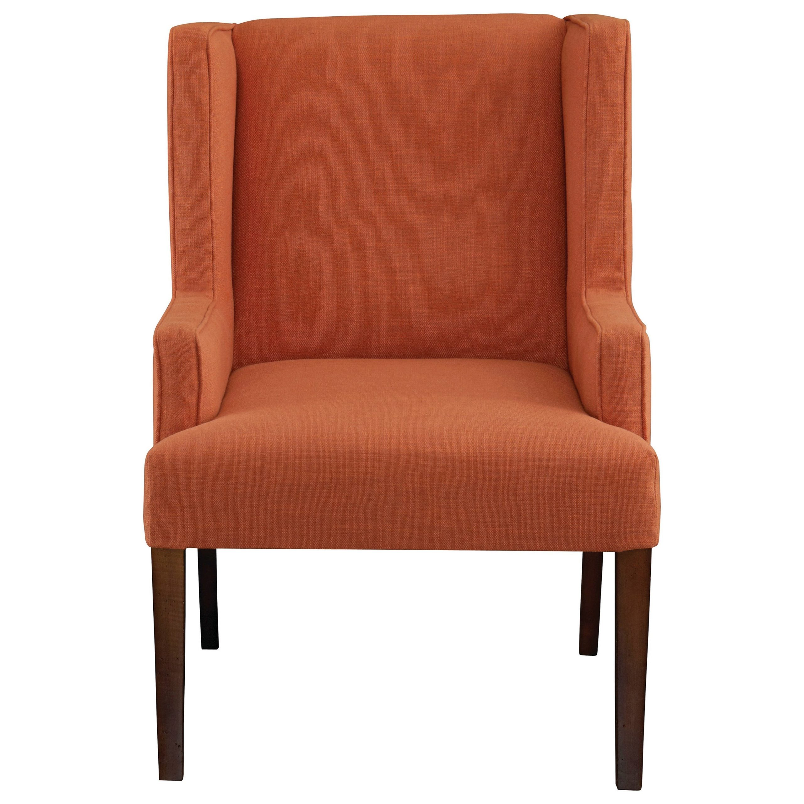 Bassett Albert 1072 02 Transitional Winged Arm Chair With With Lakeville Armchairs (View 14 of 15)