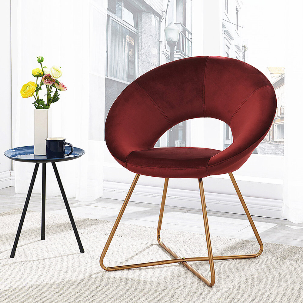 Beige & Red Accent Chairs You'Ll Love In 2021 | Wayfair Throughout Focht Armchairs (View 3 of 15)
